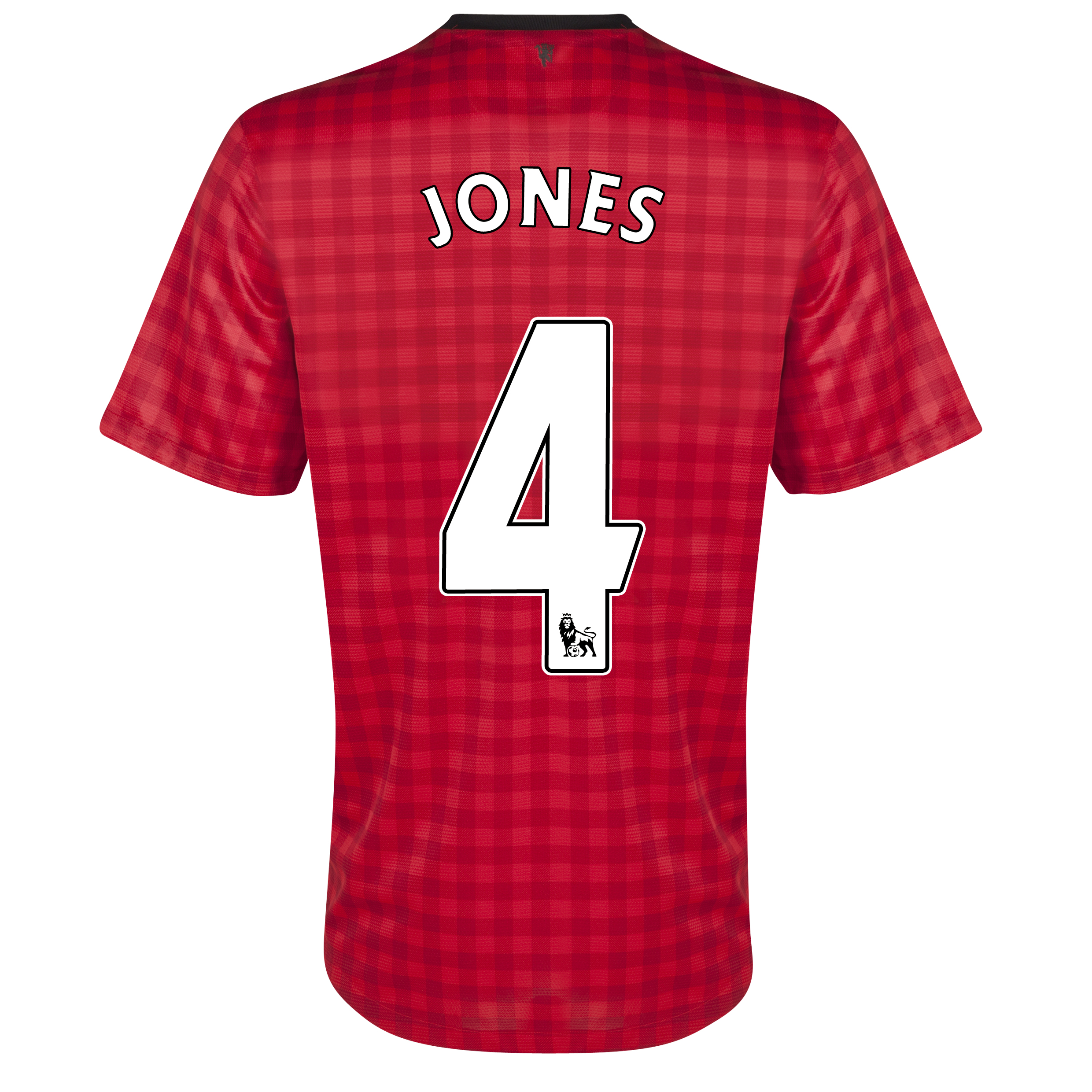 Manchester United Home Shirt 2012/13 with Jones 4 printing