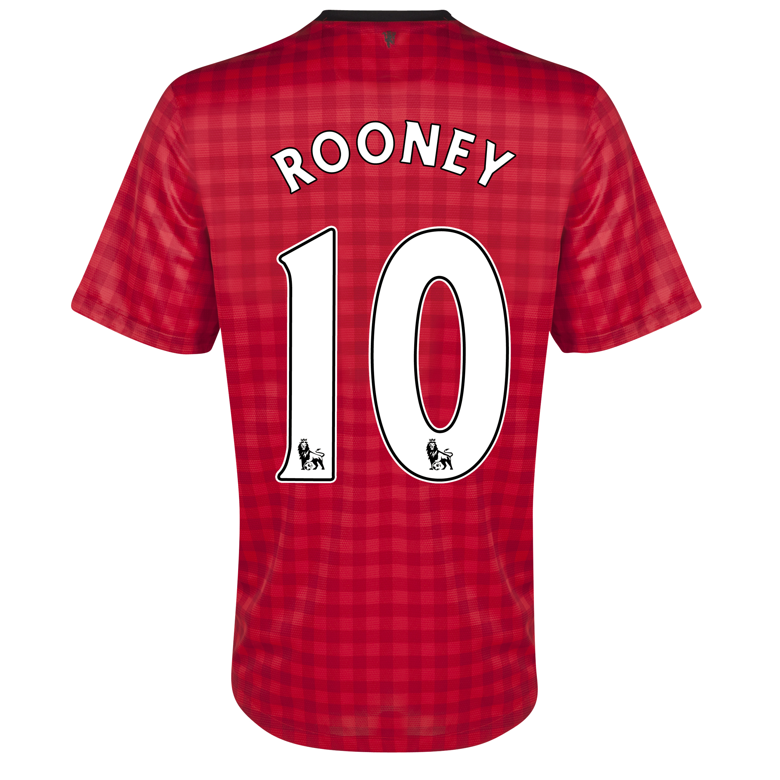 Manchester United Home Shirt 2012/13 with Rooney 10 printing