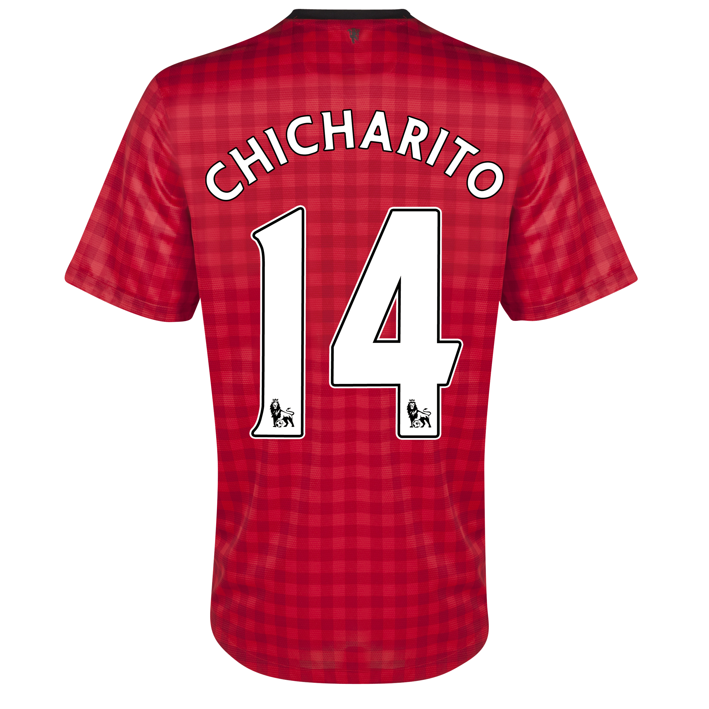 Manchester United Home Shirt 2012/13 with Chicharito 14 printing