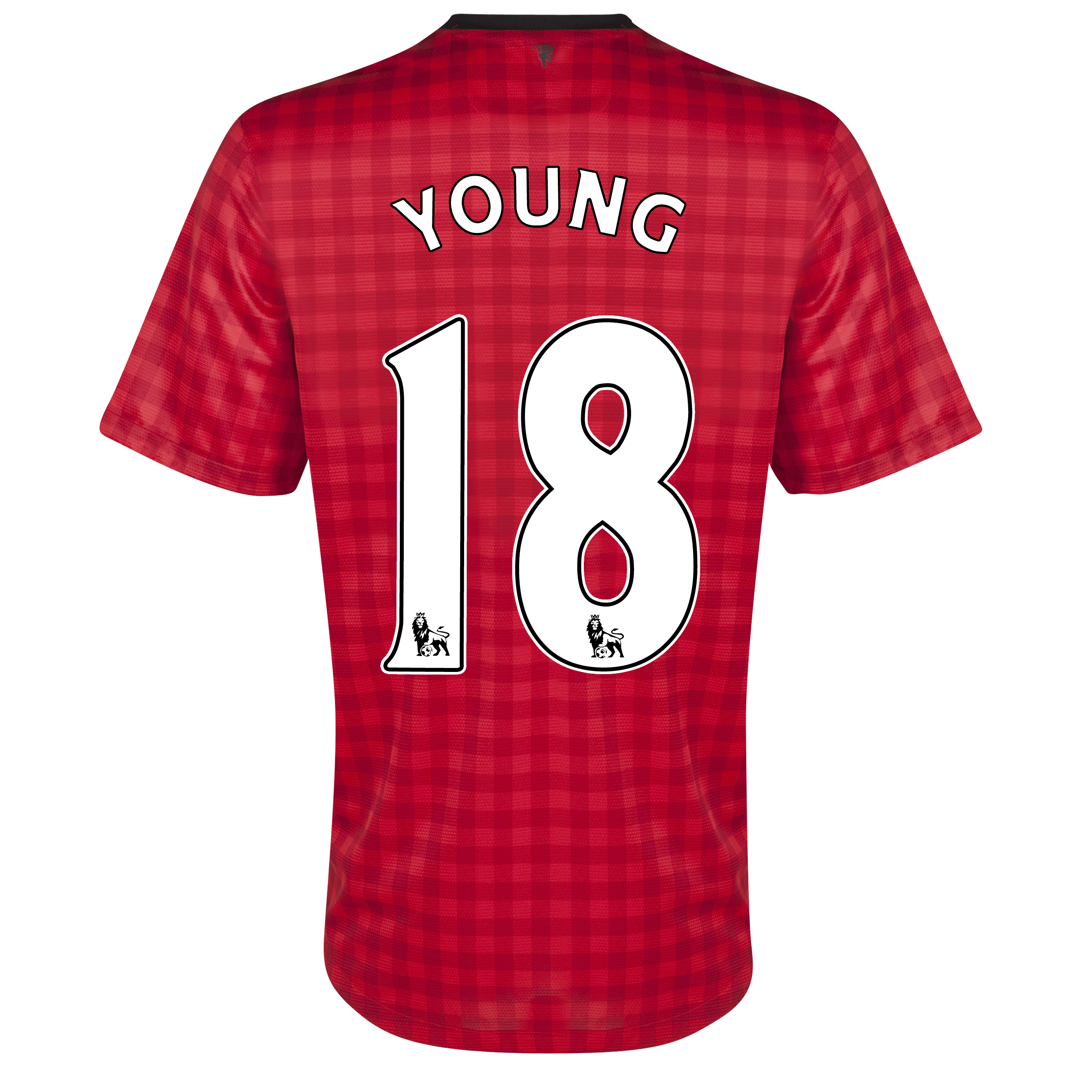 Manchester United Home Shirt 2012/13 with Young 18 printing