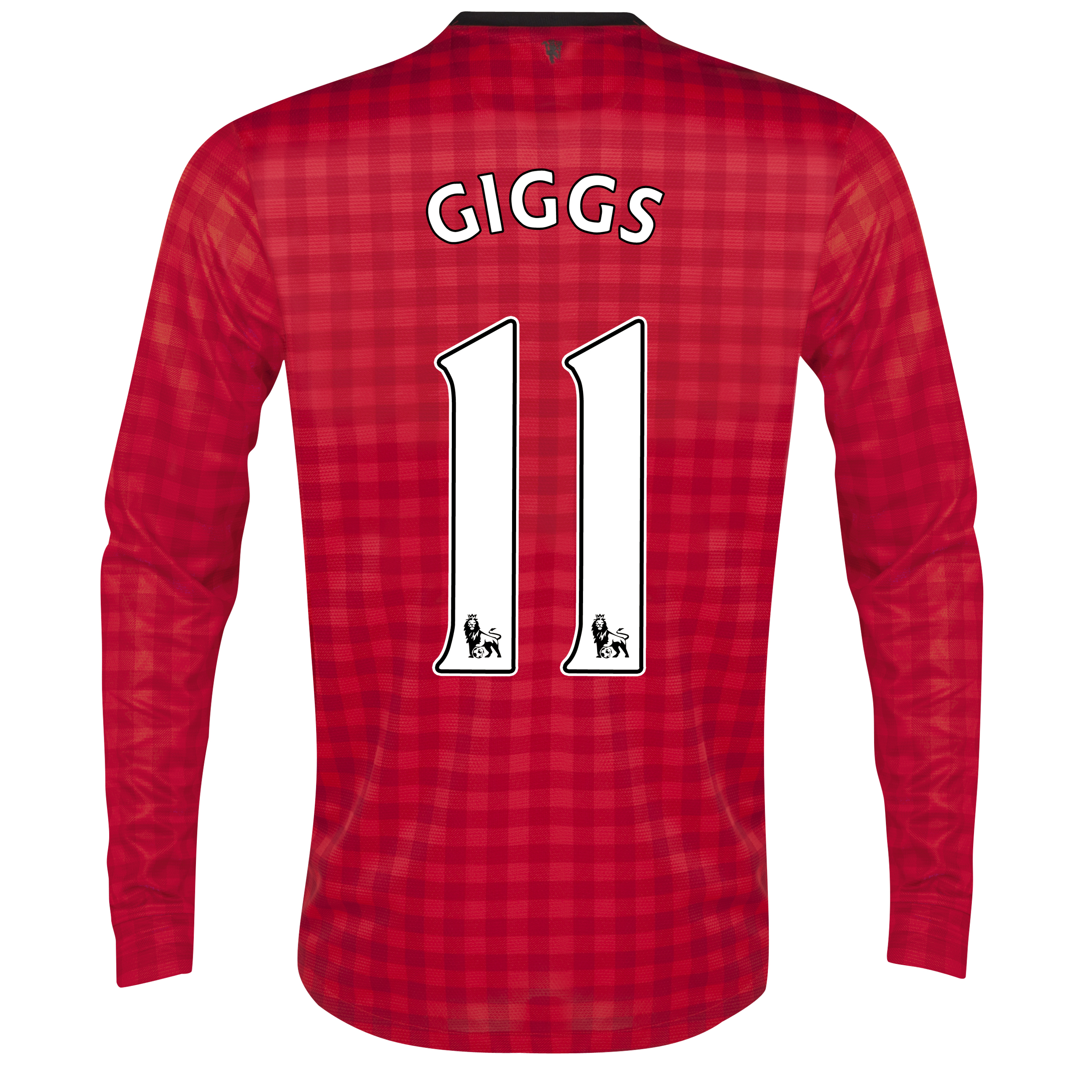 Manchester United Home Shirt 2012/13 - Long Sleeved with Giggs 11 printing
