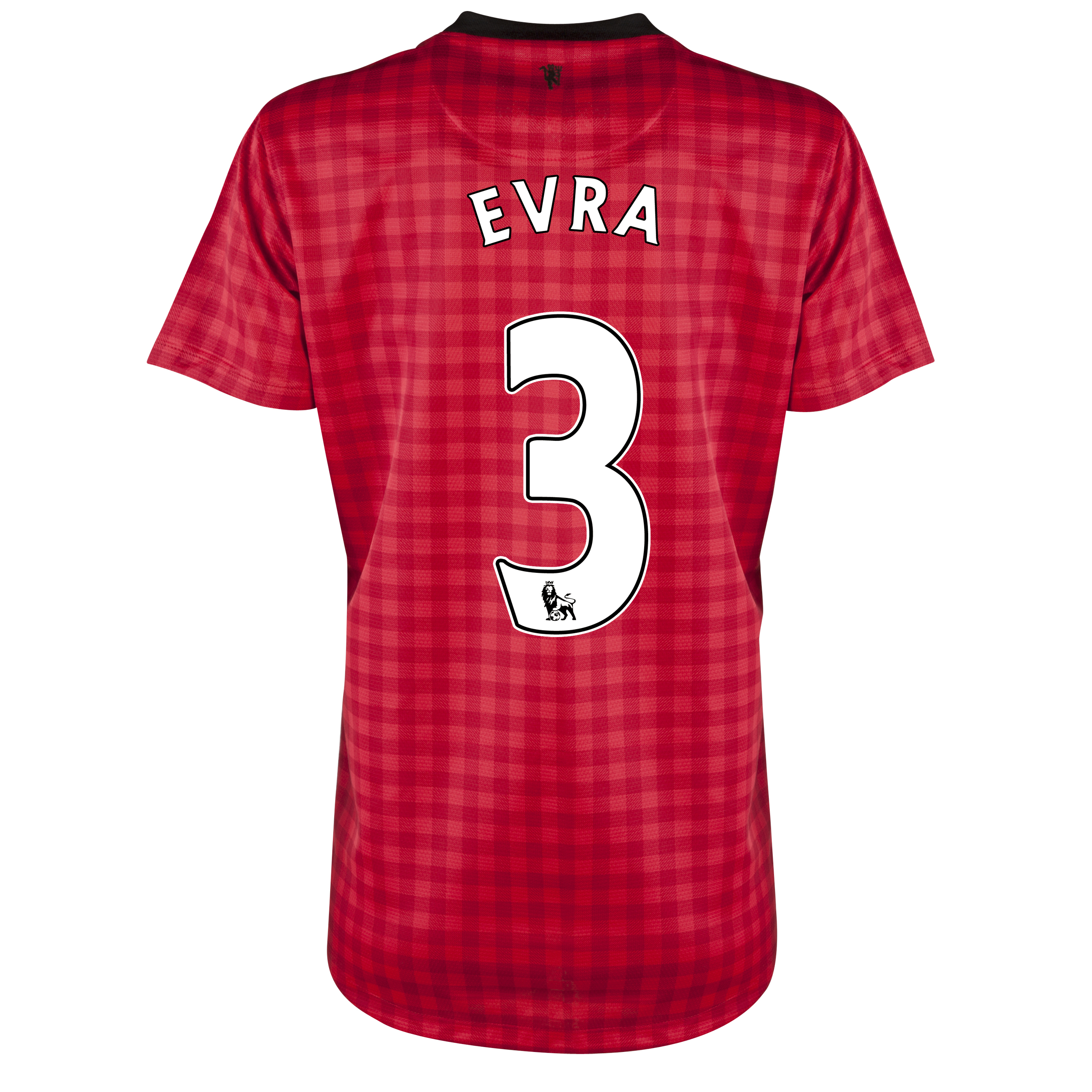 Manchester United Home Shirt 2012/13 - Womens with Evra 3 printing