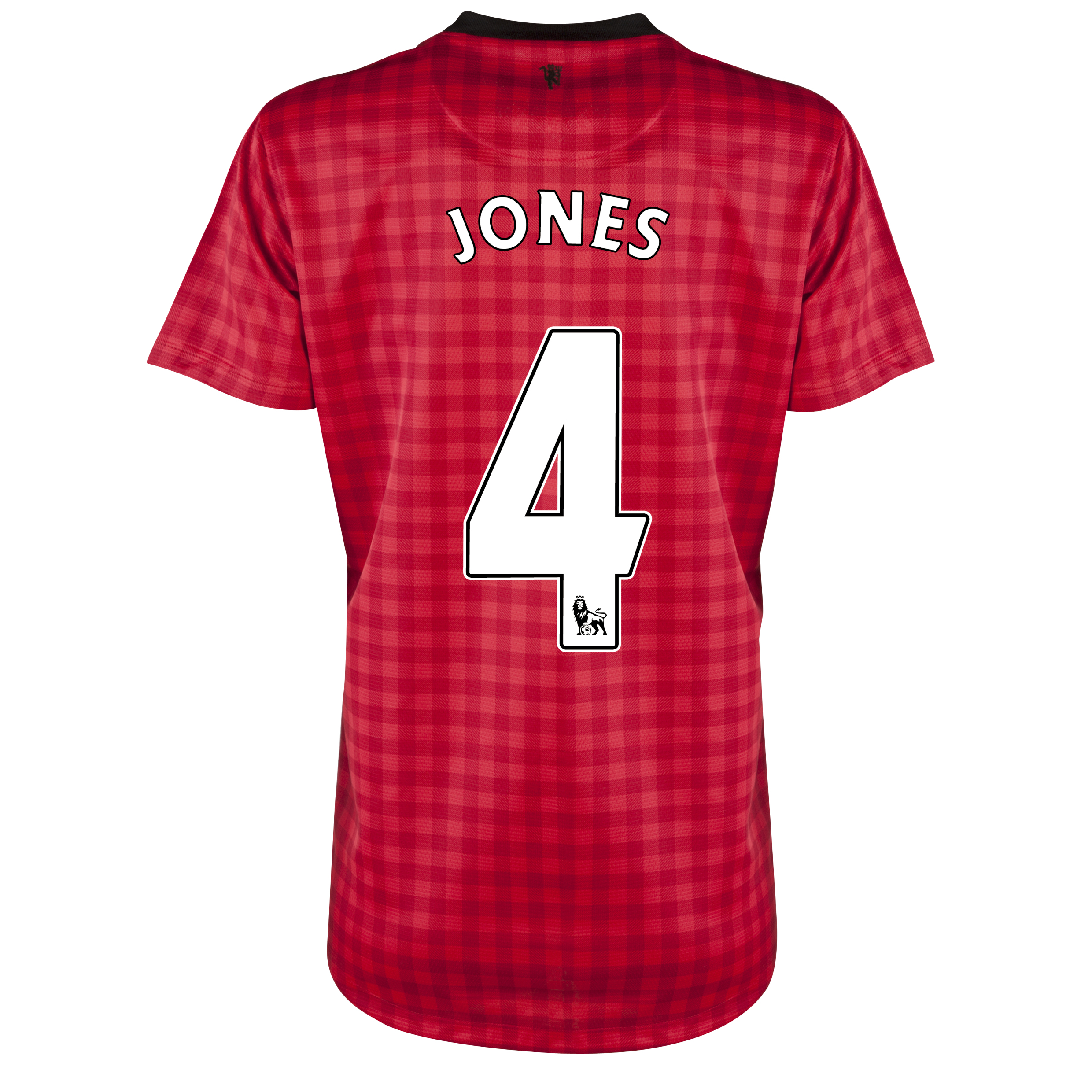 Manchester United Home Shirt 2012/13 - Womens with Jones 4 printing