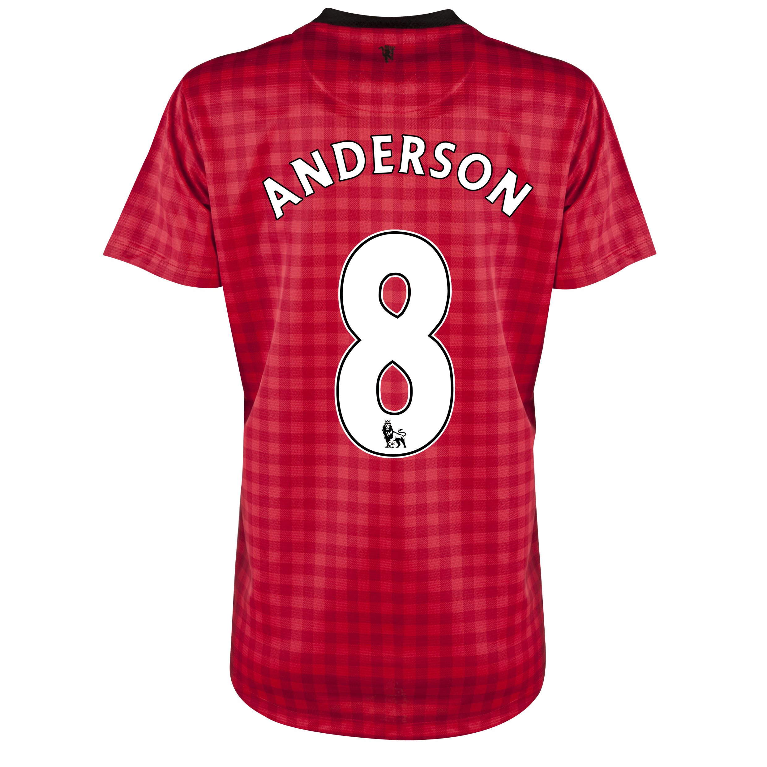 Manchester United Home Shirt 2012/13 - Womens with Anderson 8 printing