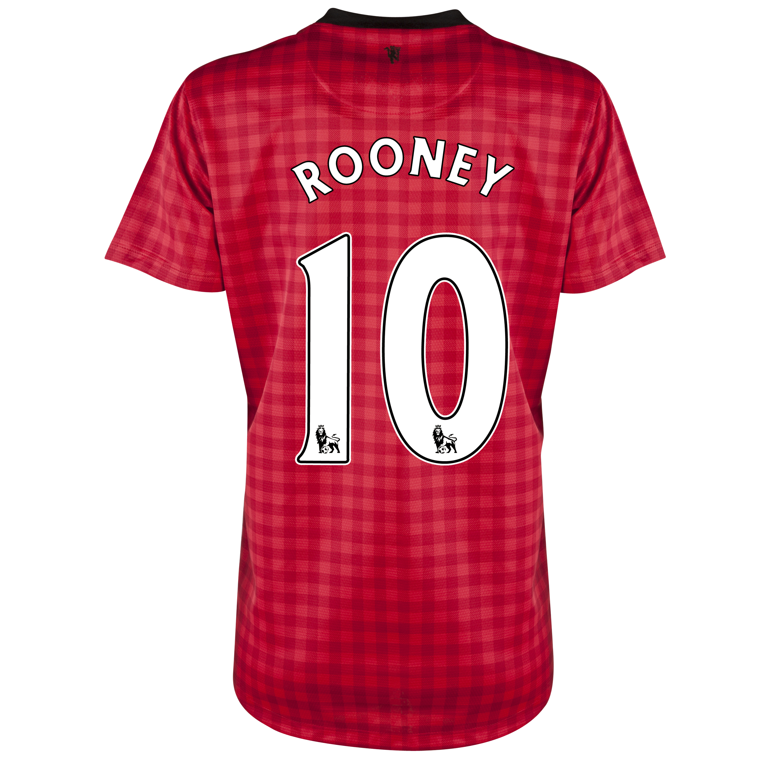Manchester United Home Shirt 2012/13 - Womens with Rooney 10 printing