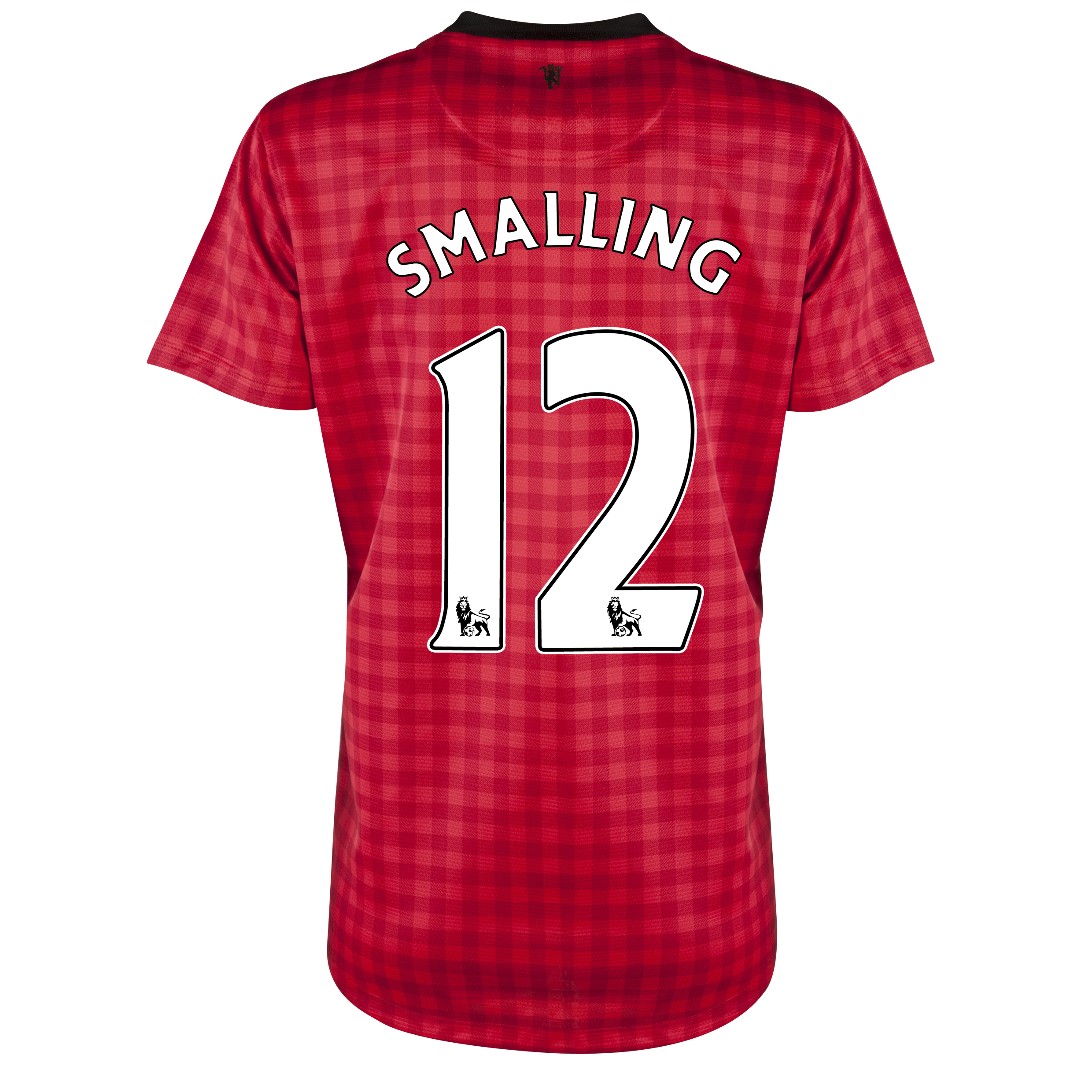 Manchester United Home Shirt 2012/13 - Womens with Smalling 12 printing