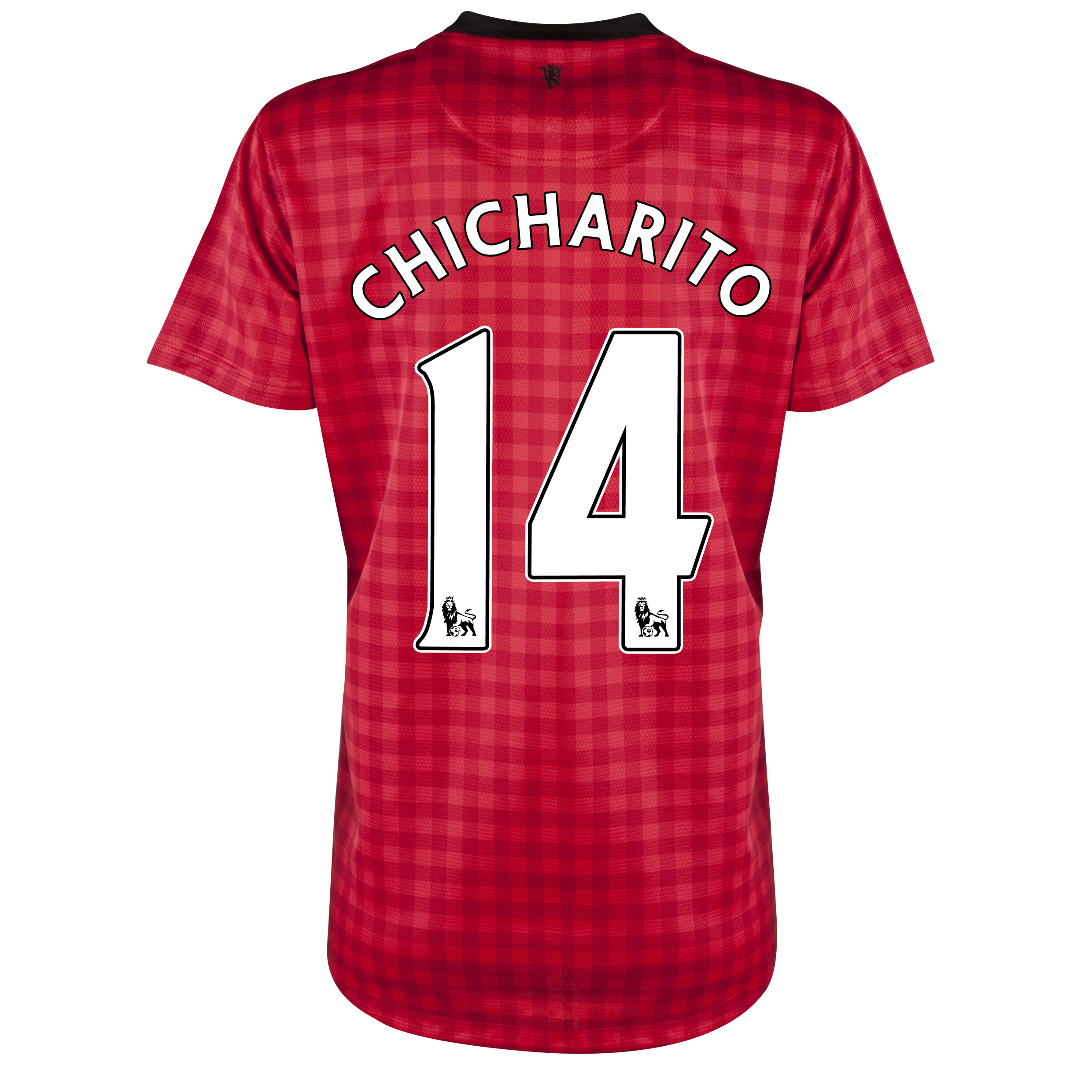 Manchester United Home Shirt 2012/13 - Womens with Chicharito 14 printing