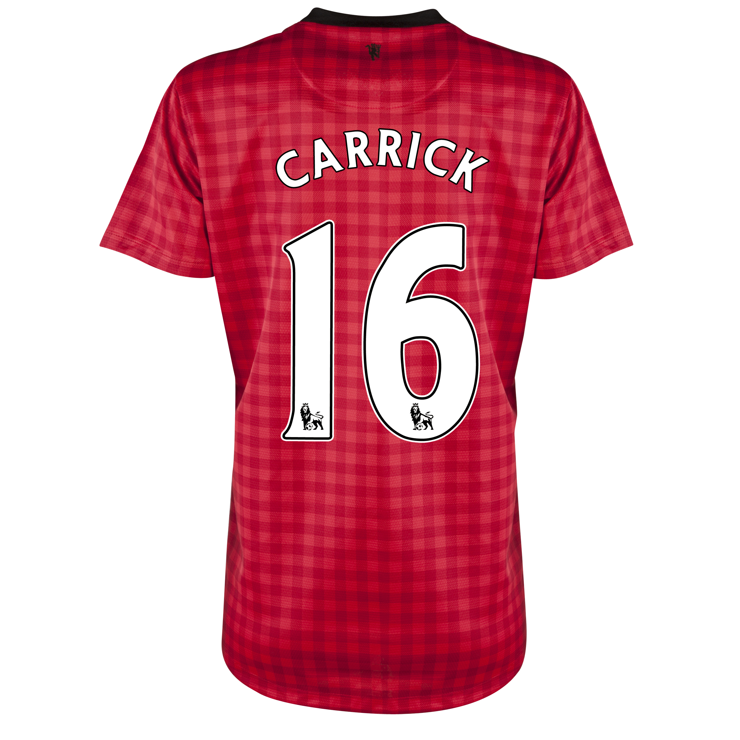 Manchester United Home Shirt 2012/13 - Womens with Carrick 16 printing