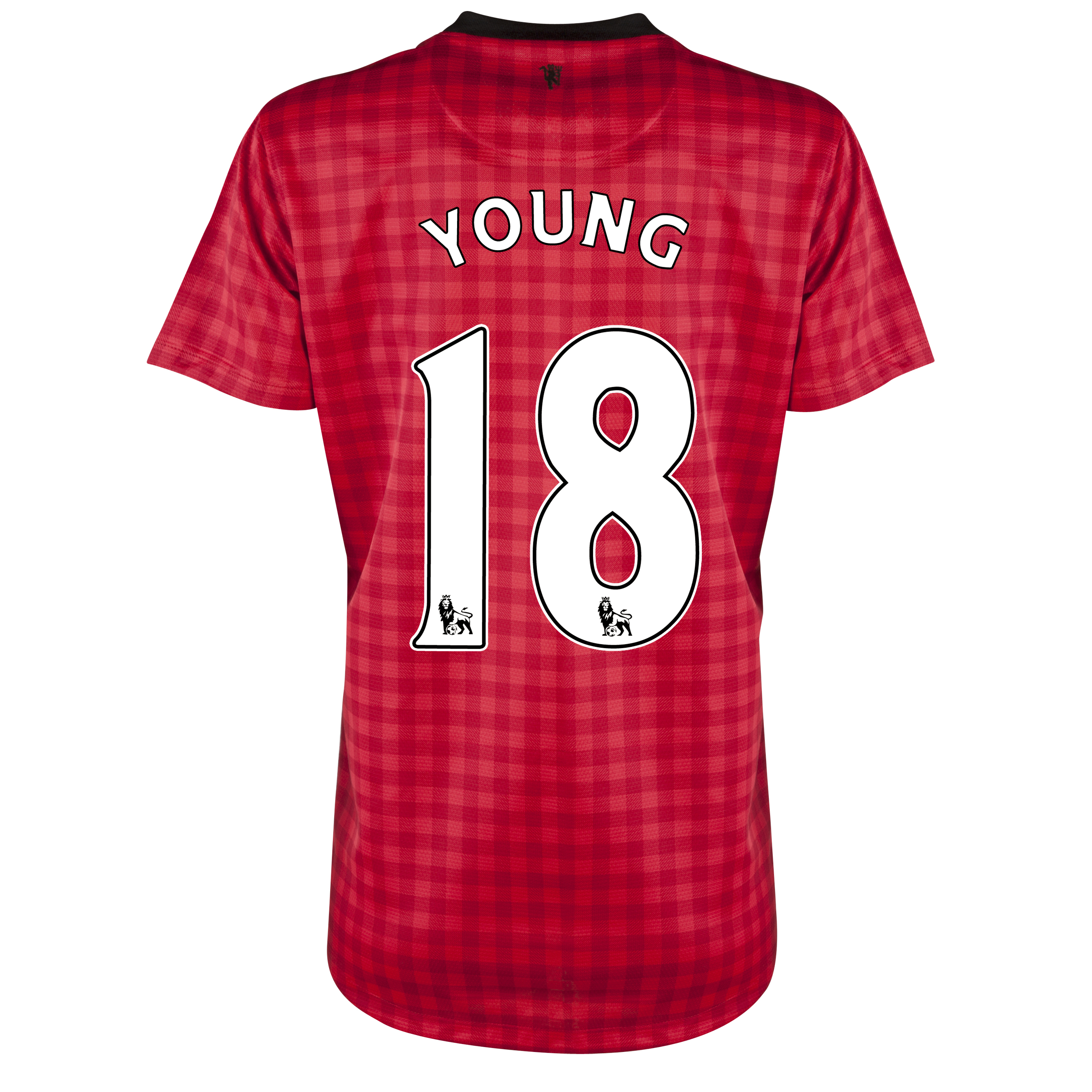 Manchester United Home Shirt 2012/13 - Womens with Young 18 printing