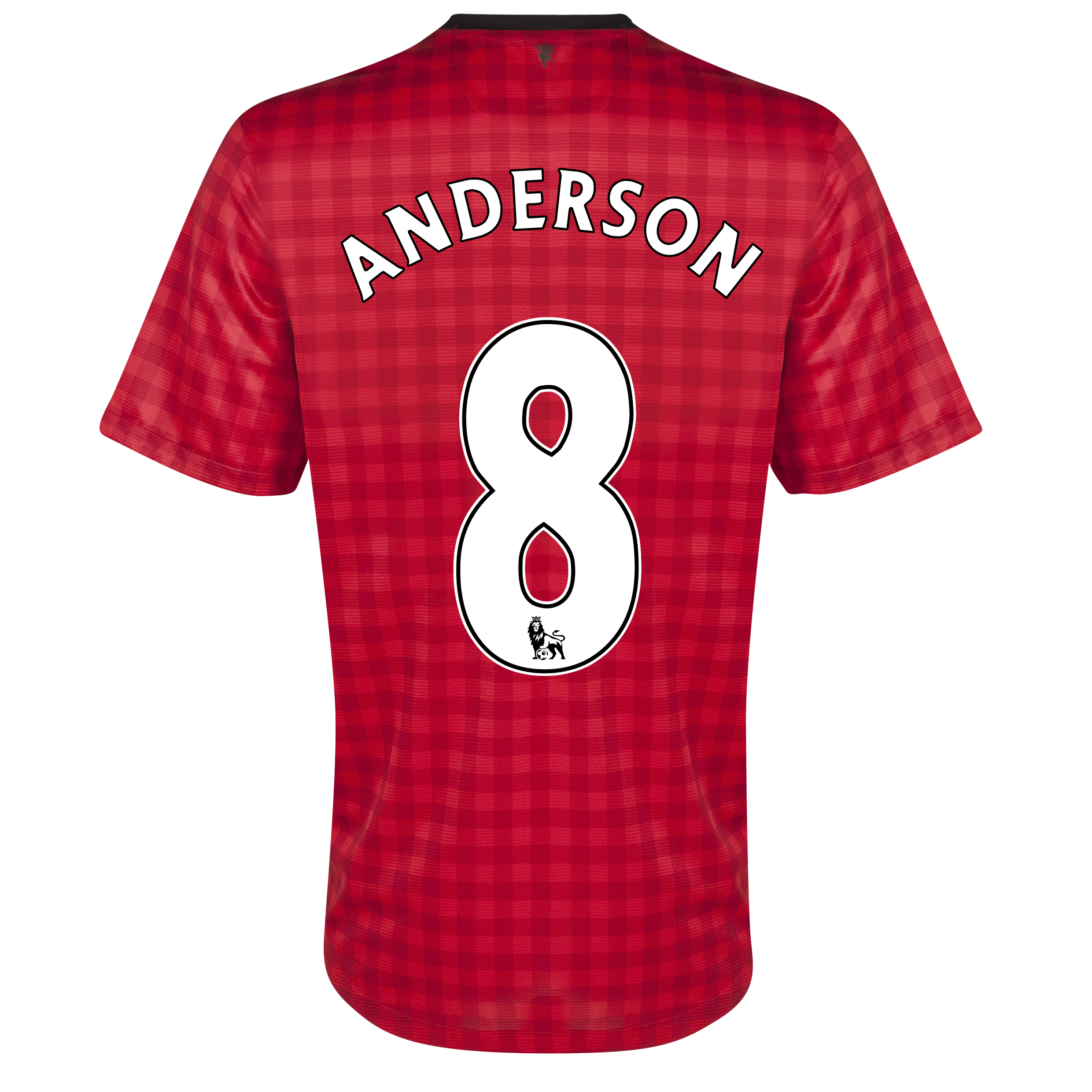 Manchester United Home Shirt 2012/13  - Youths with Anderson 8 printing