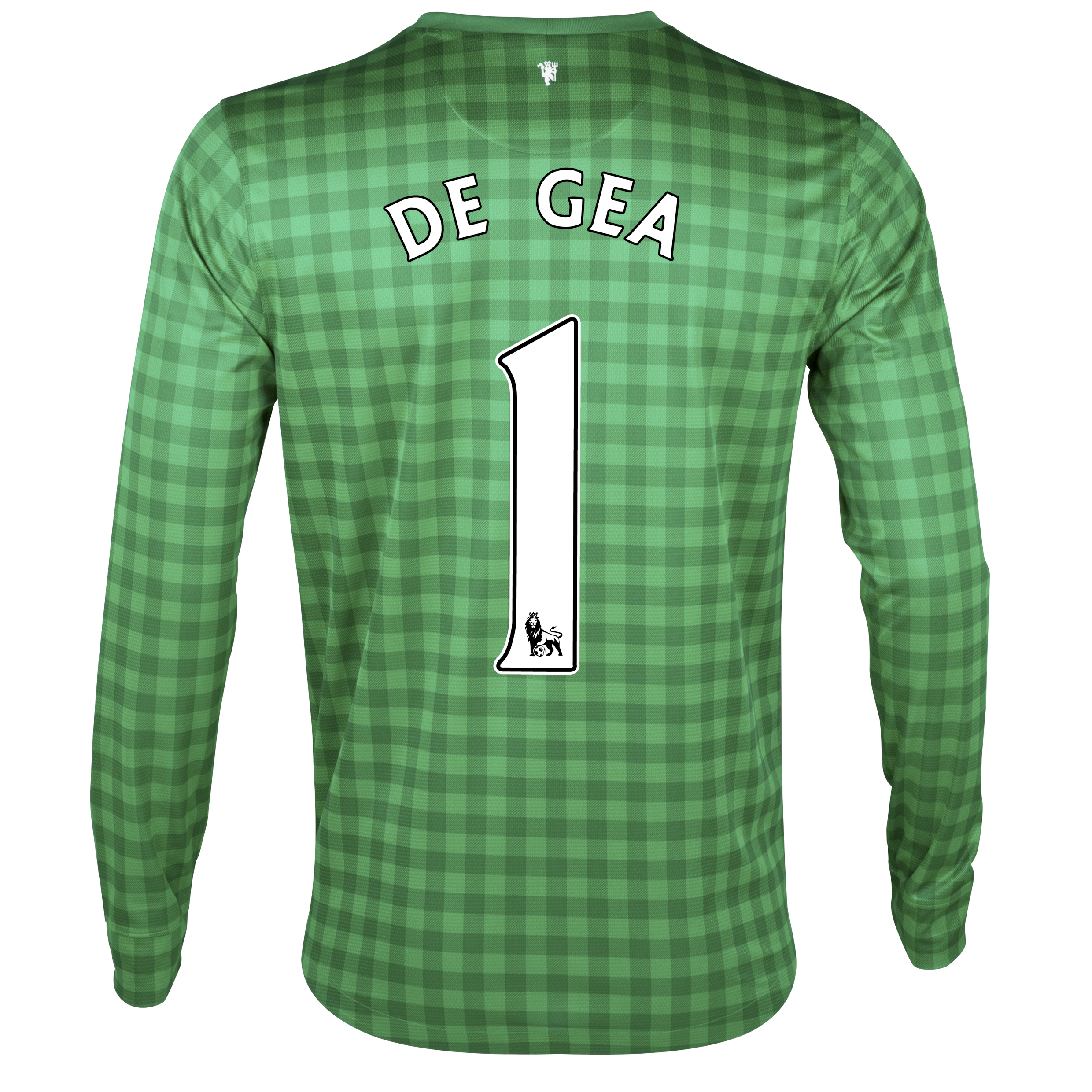 Manchester United Home Goalkeeper Shirt 2012/13 with De Gea 1 printing