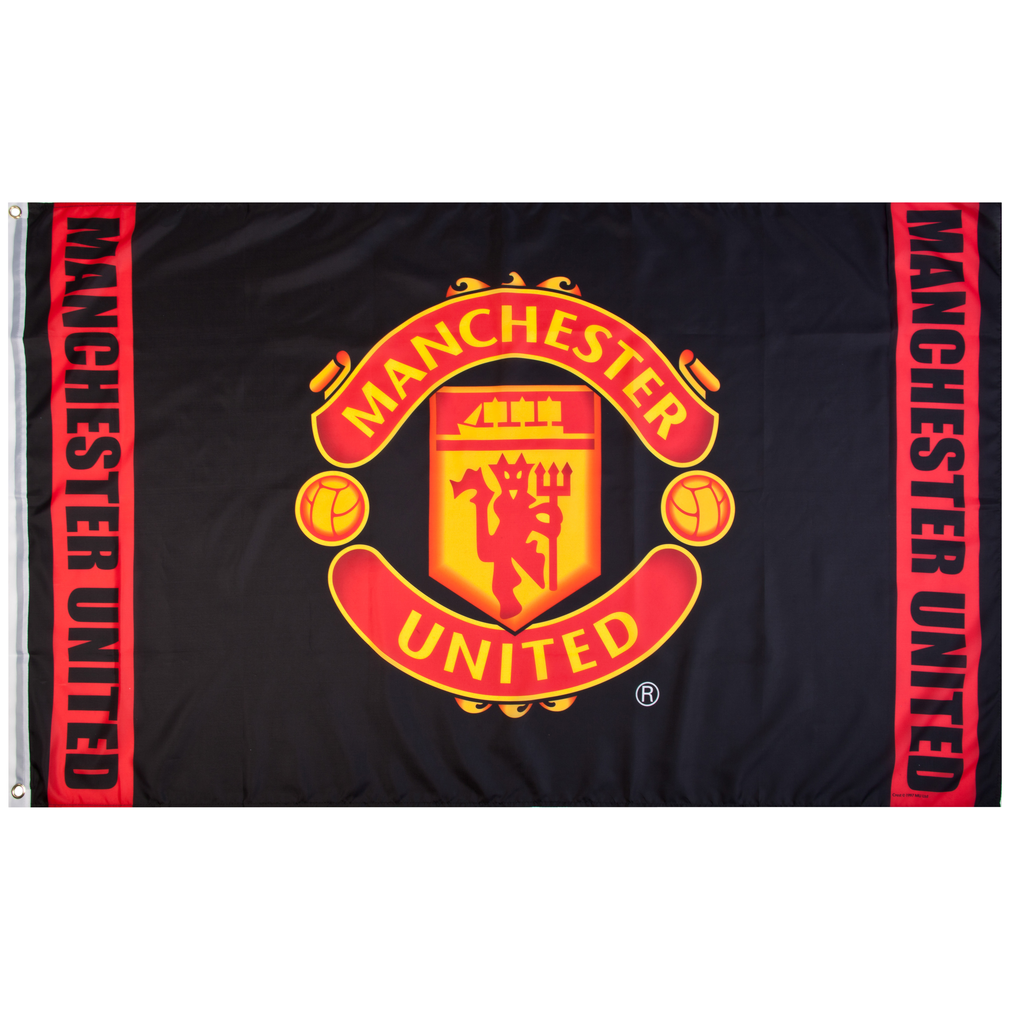 Manchester United Crest Flag - 5 x 3