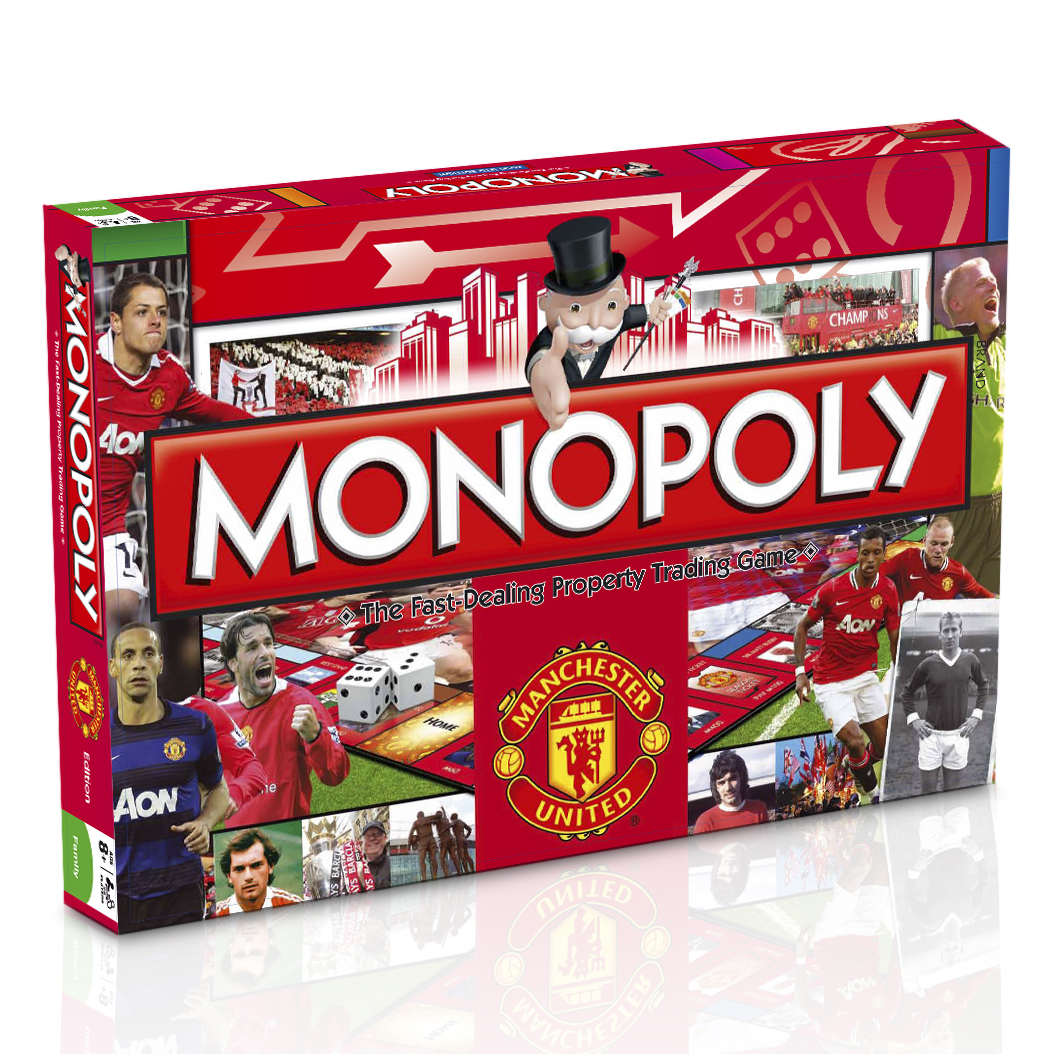 Manchester United Monopoly Game