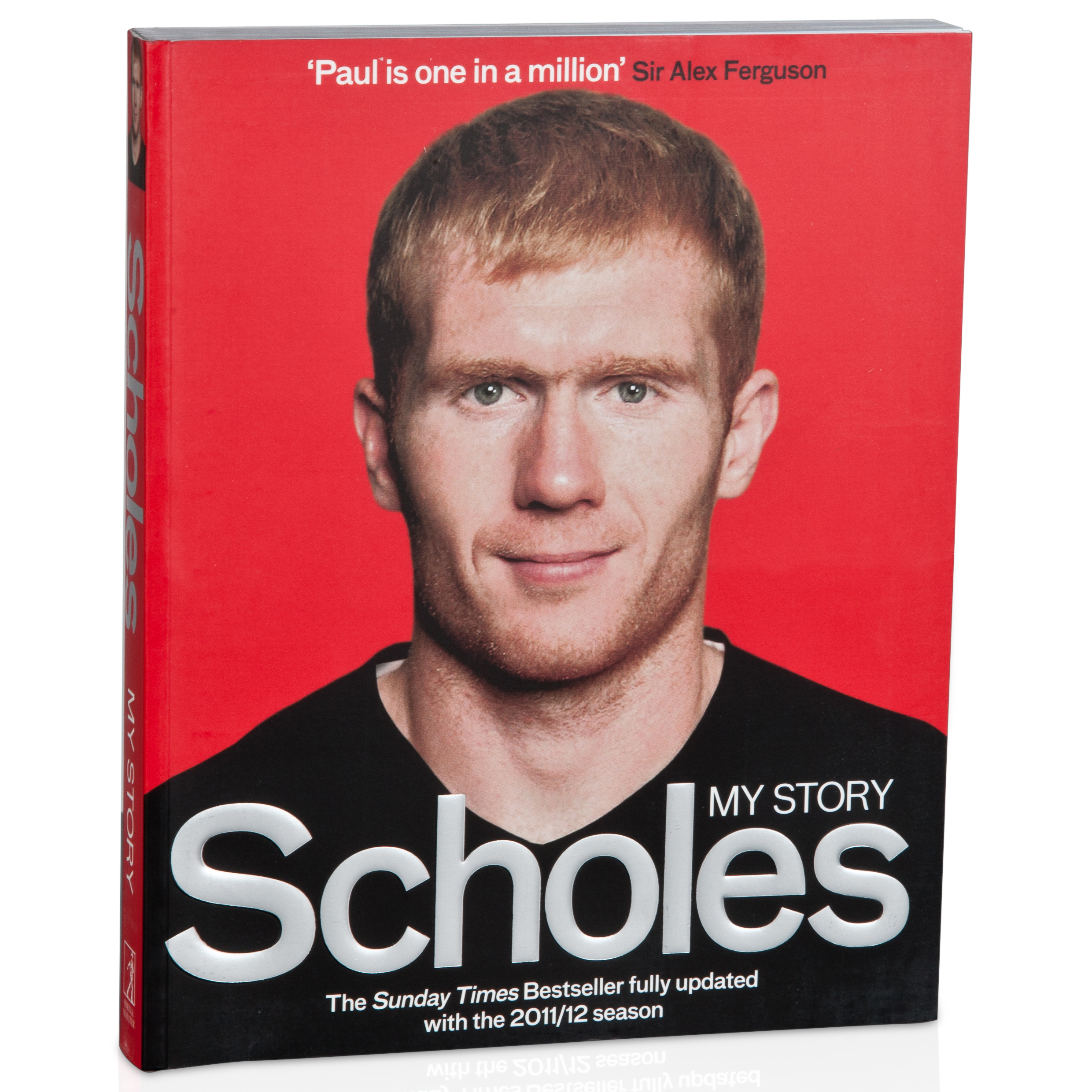 Manchester United Scholes My Story Paperback Book