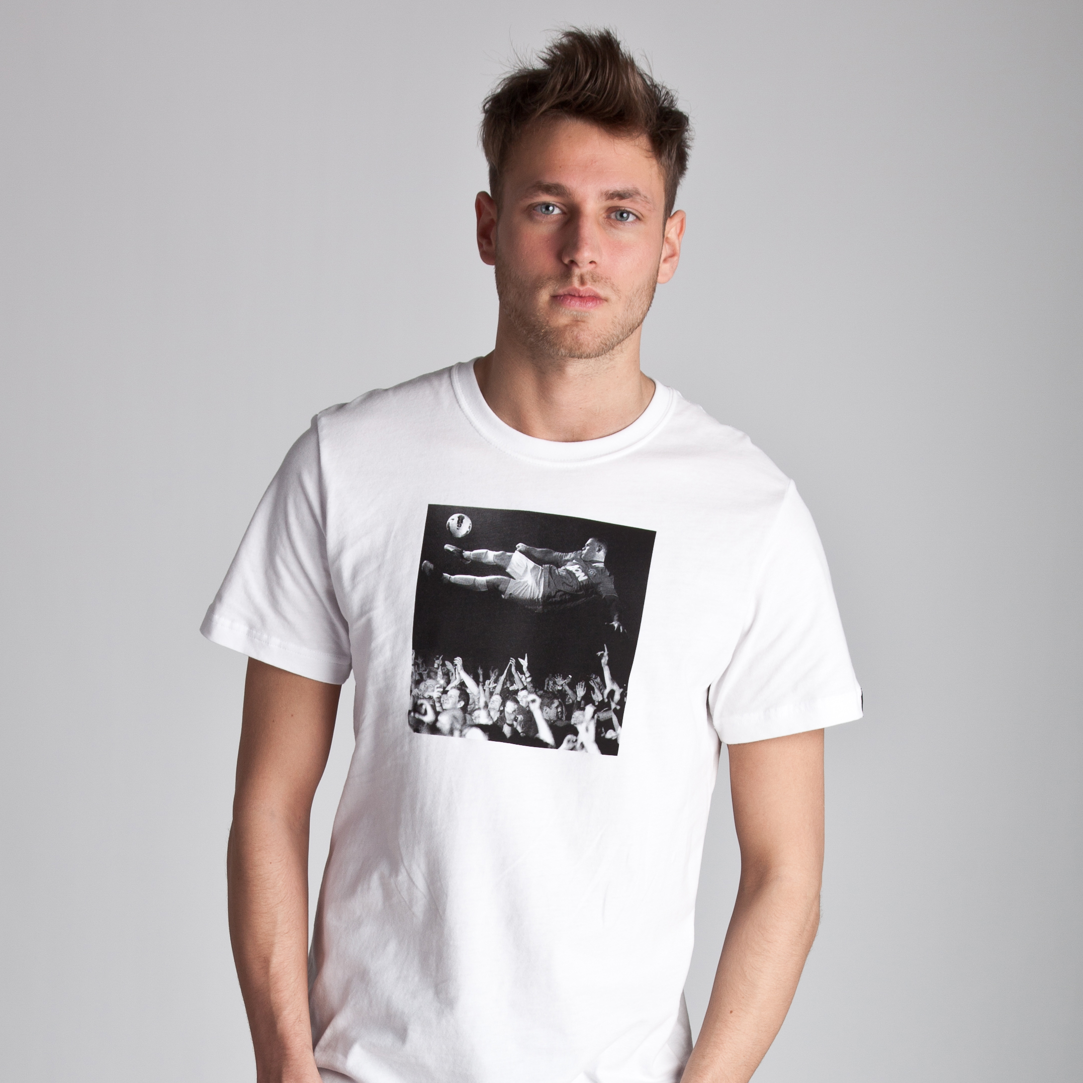 Manchester United Authentic T-Shirt - White/Pure Platinum