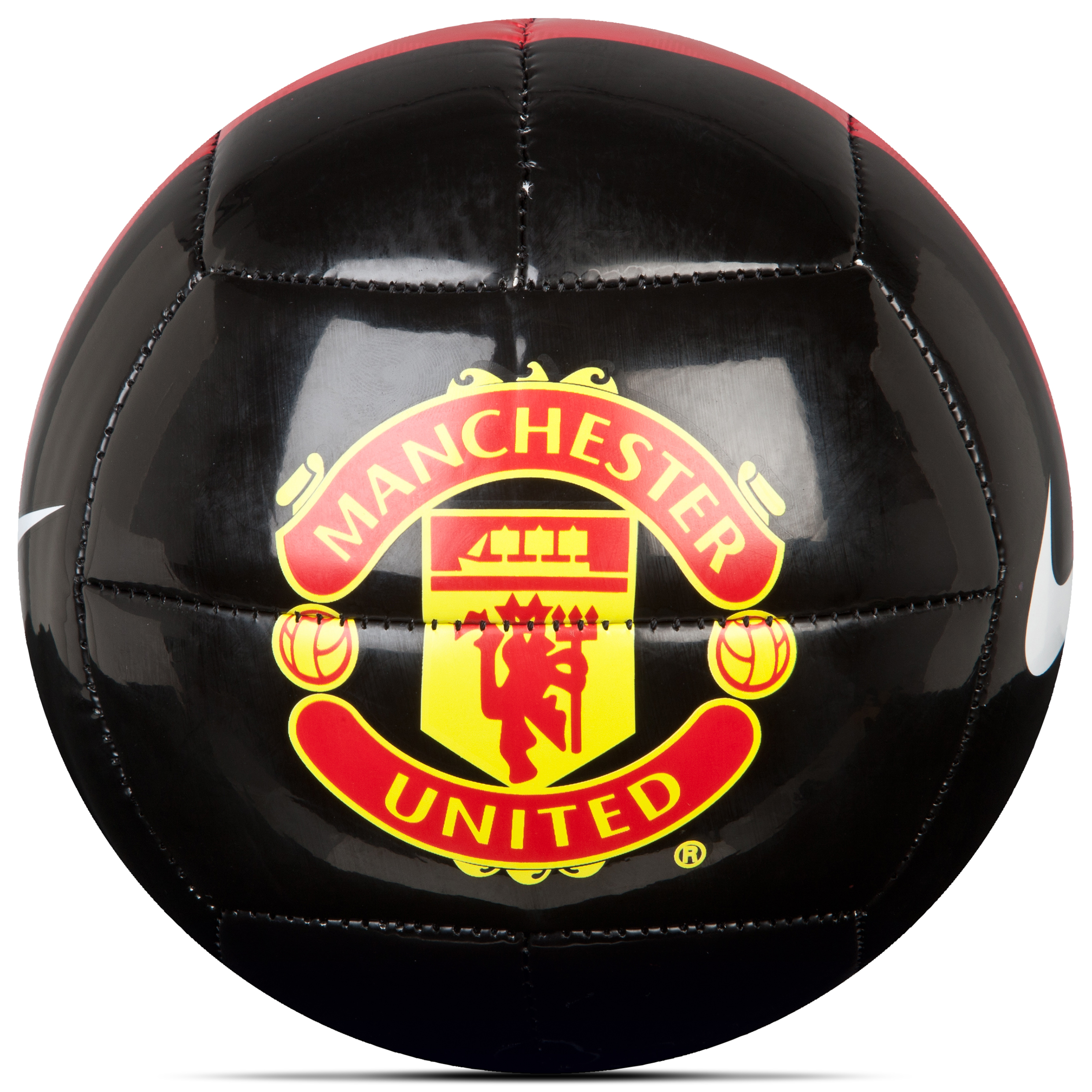 Manchester United Skills Size 1 Football - Black/Red/(White)
