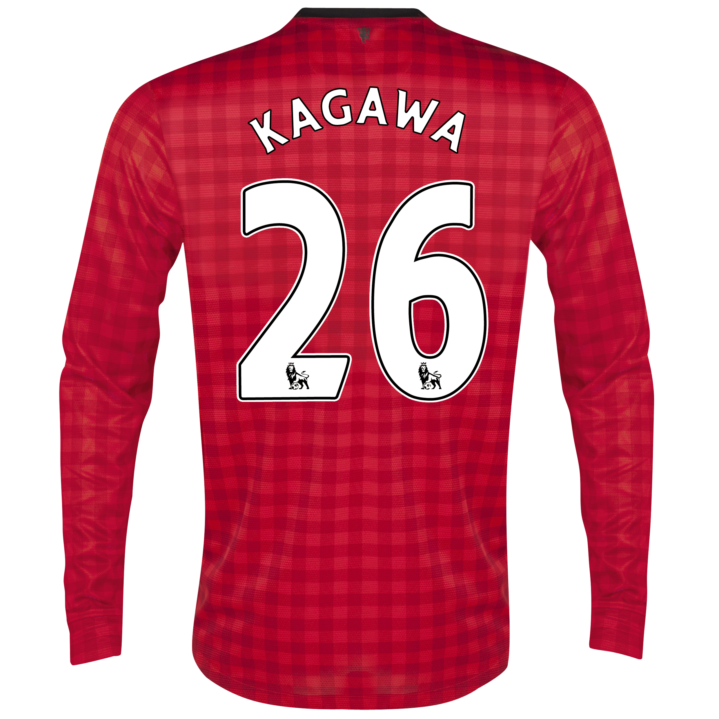 Manchester United Home Shirt 2012/13 - Long Sleeved with Kagawa 26 printing