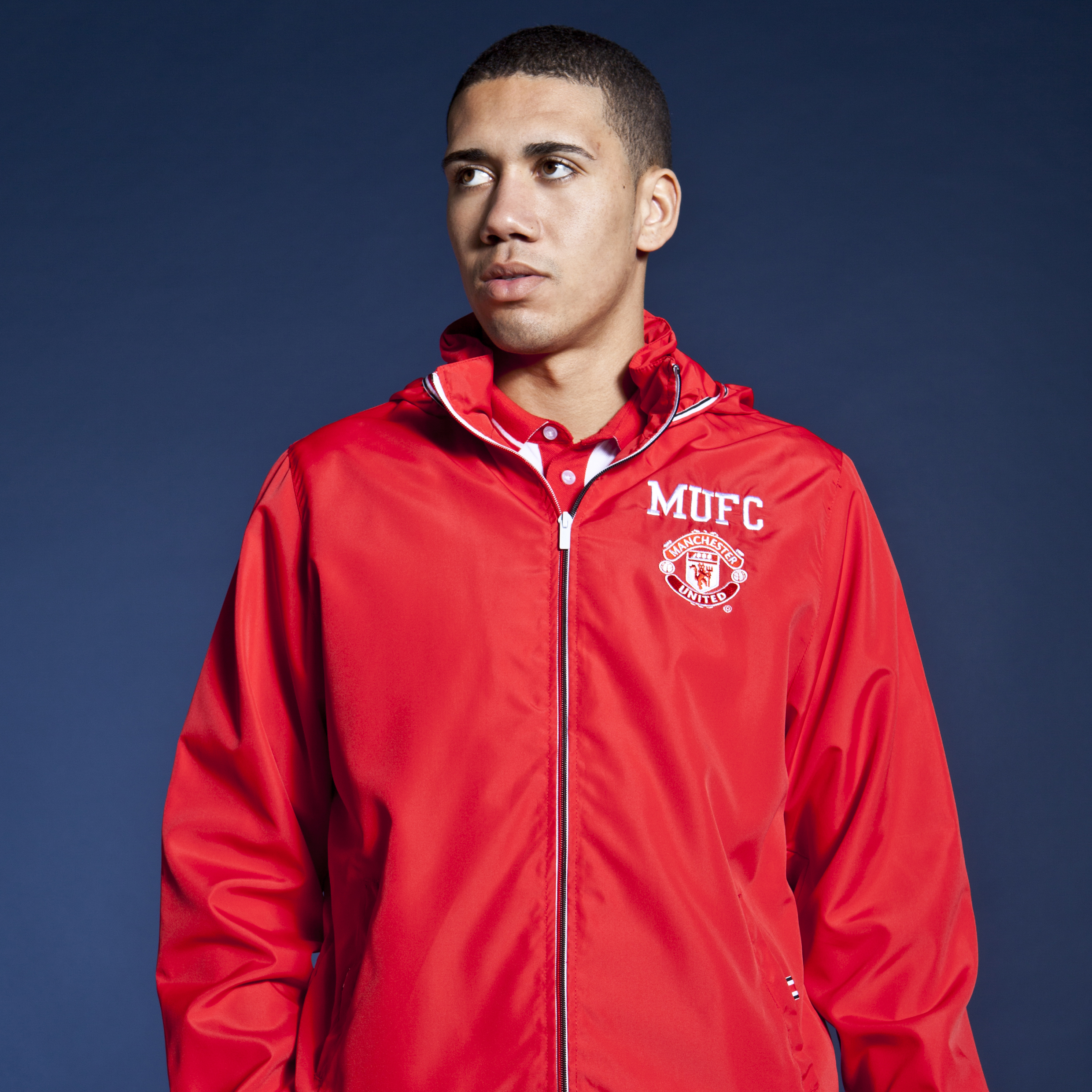 Manchester United Classic Shower Jacket - OT Red - Mens
