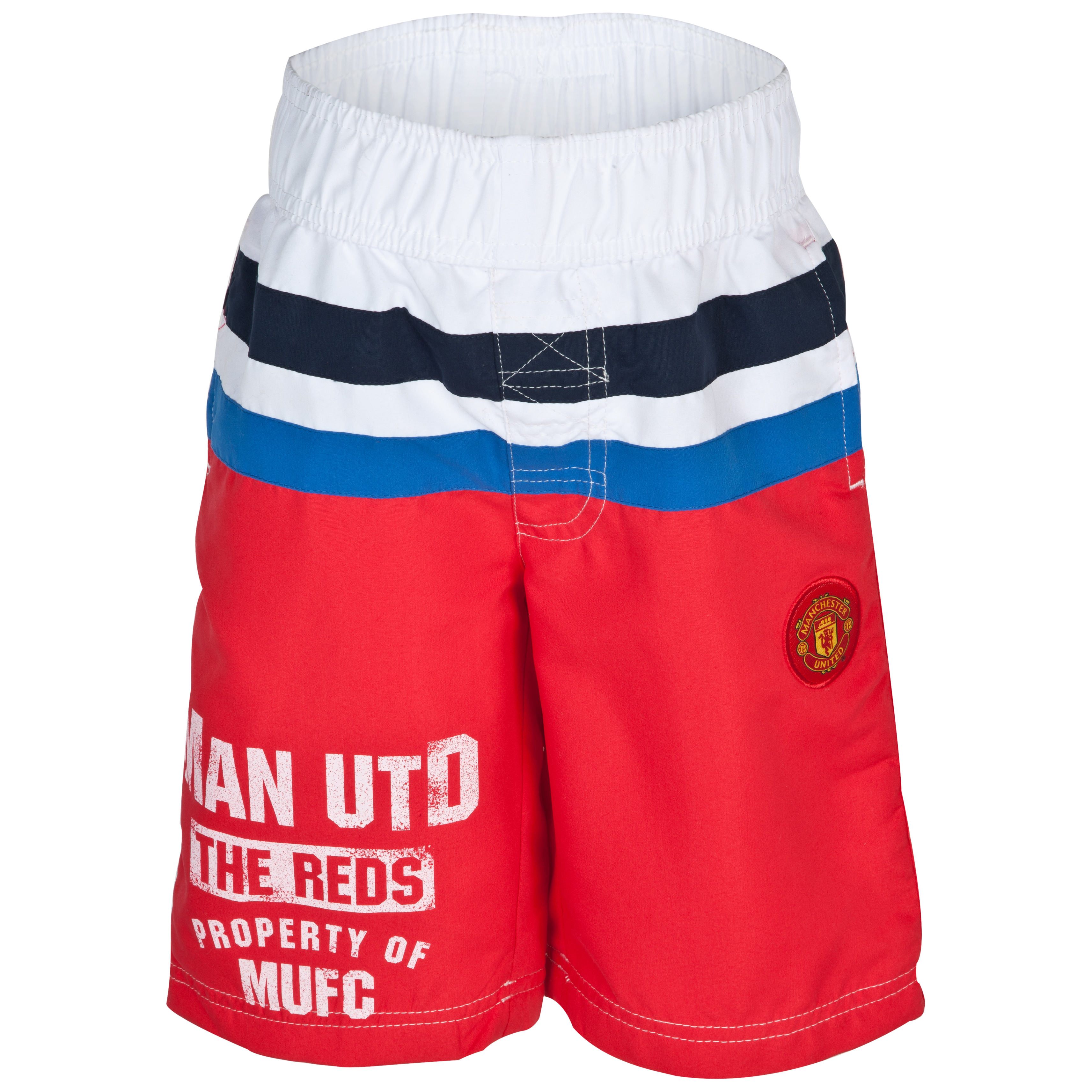 Manchester United The Reds Woven Board Shorts - OT Red - Infant Boys