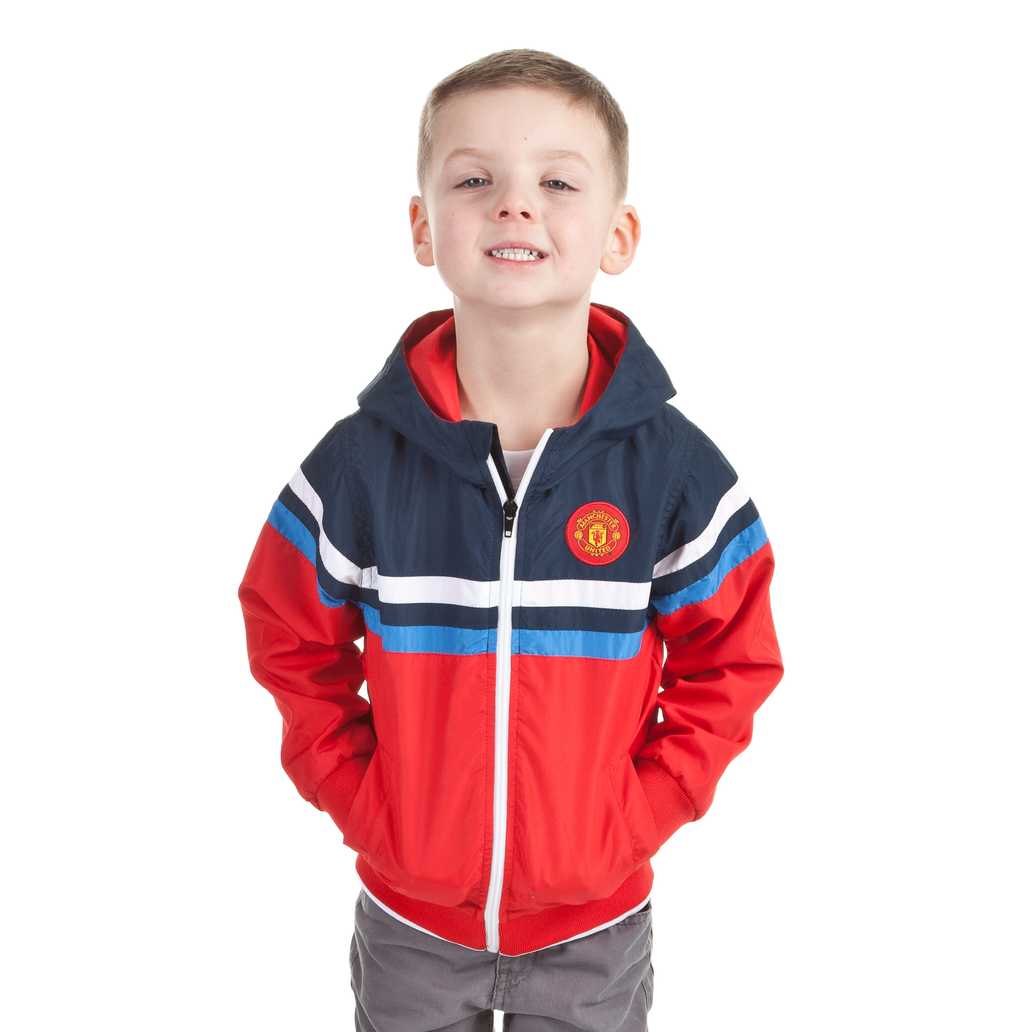 Manchester United The Reds Shower Jacket - OT Red - Infant Boys