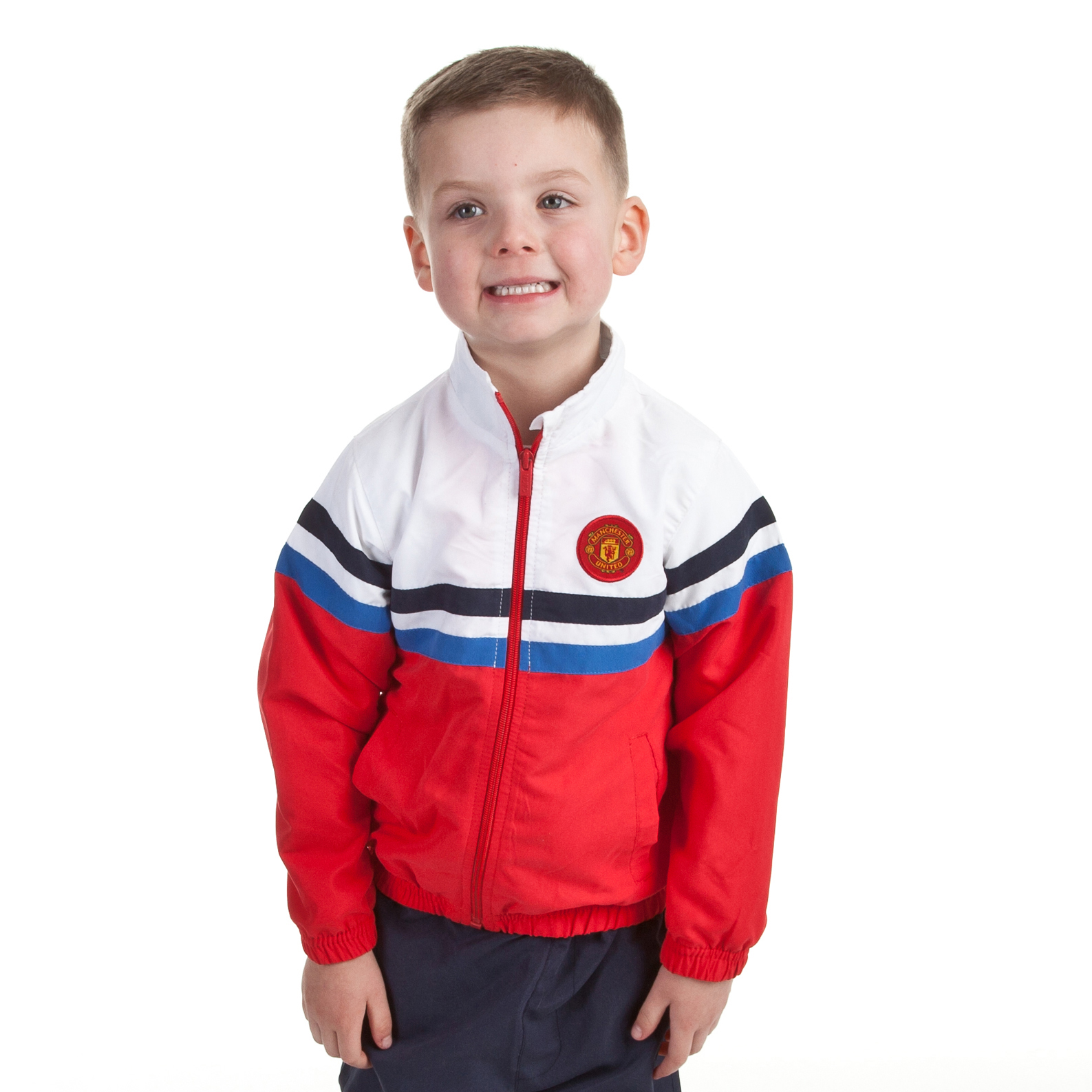 Manchester United Woven Tracksuit - OT Navy - Infant Boys