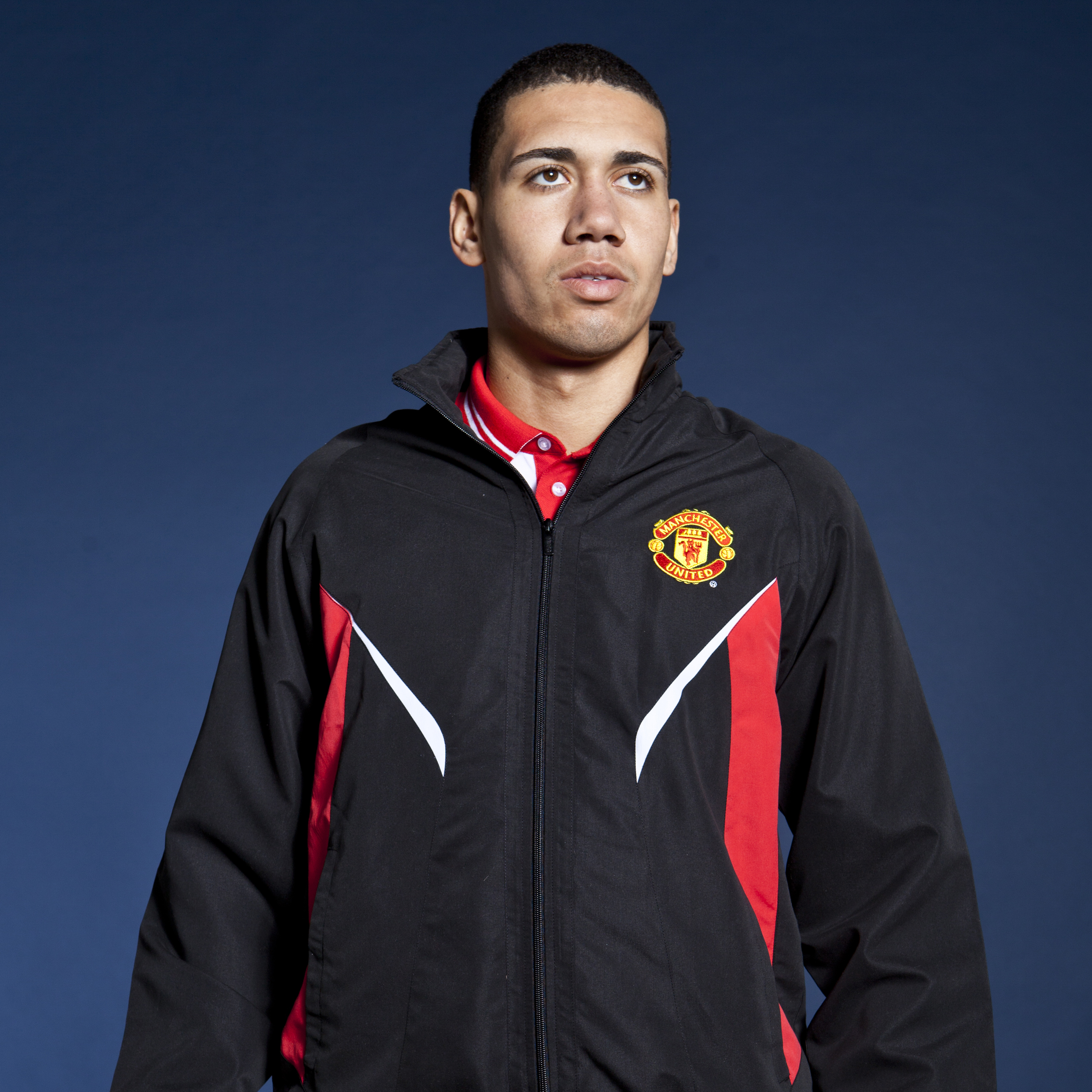 Manchester United Classic Woven Track Jacket - Black - Mens