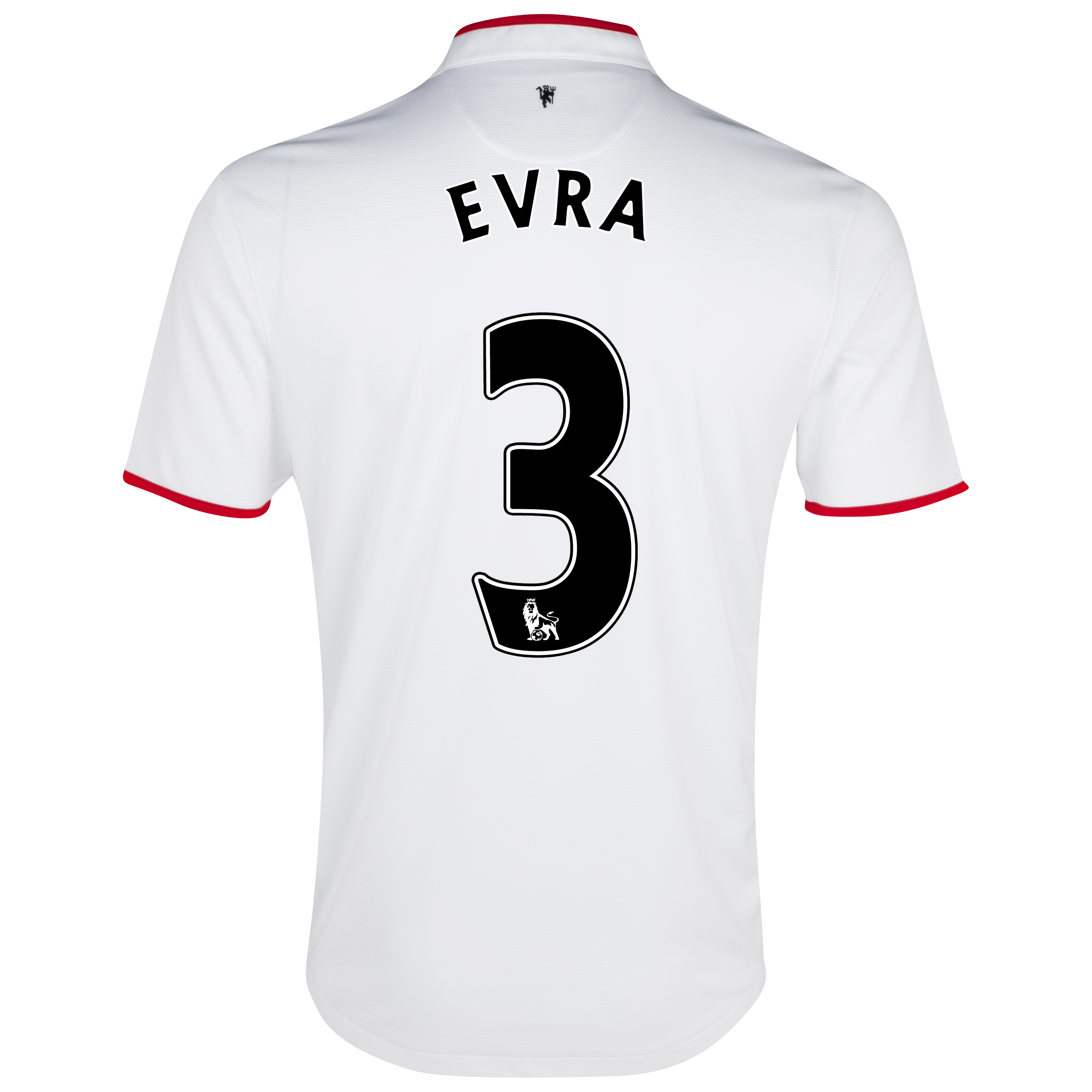 Manchester United Away Shirt 2012/13 with Evra 3 printing