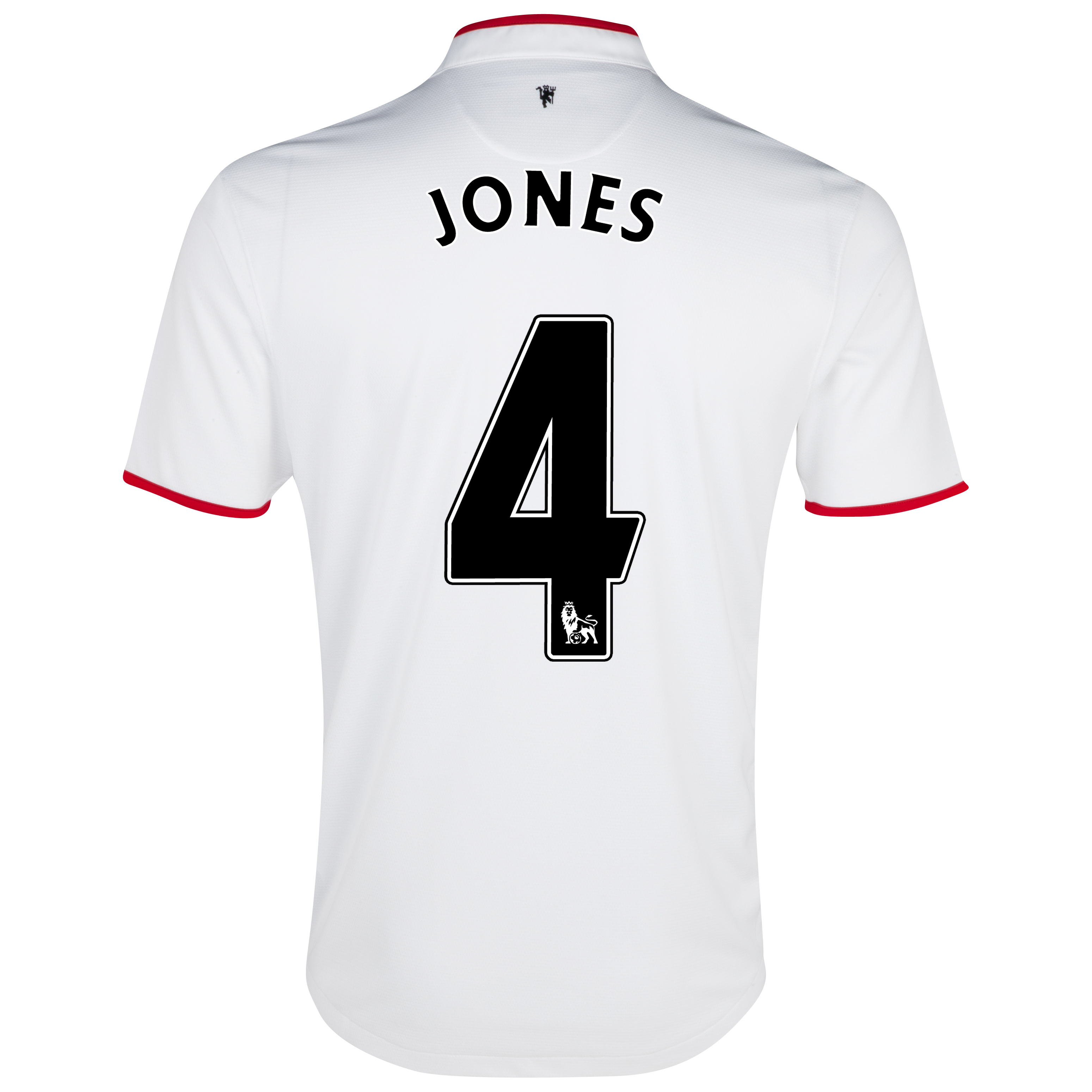 Manchester United Away Shirt 2012/13 with Jones 4 printing
