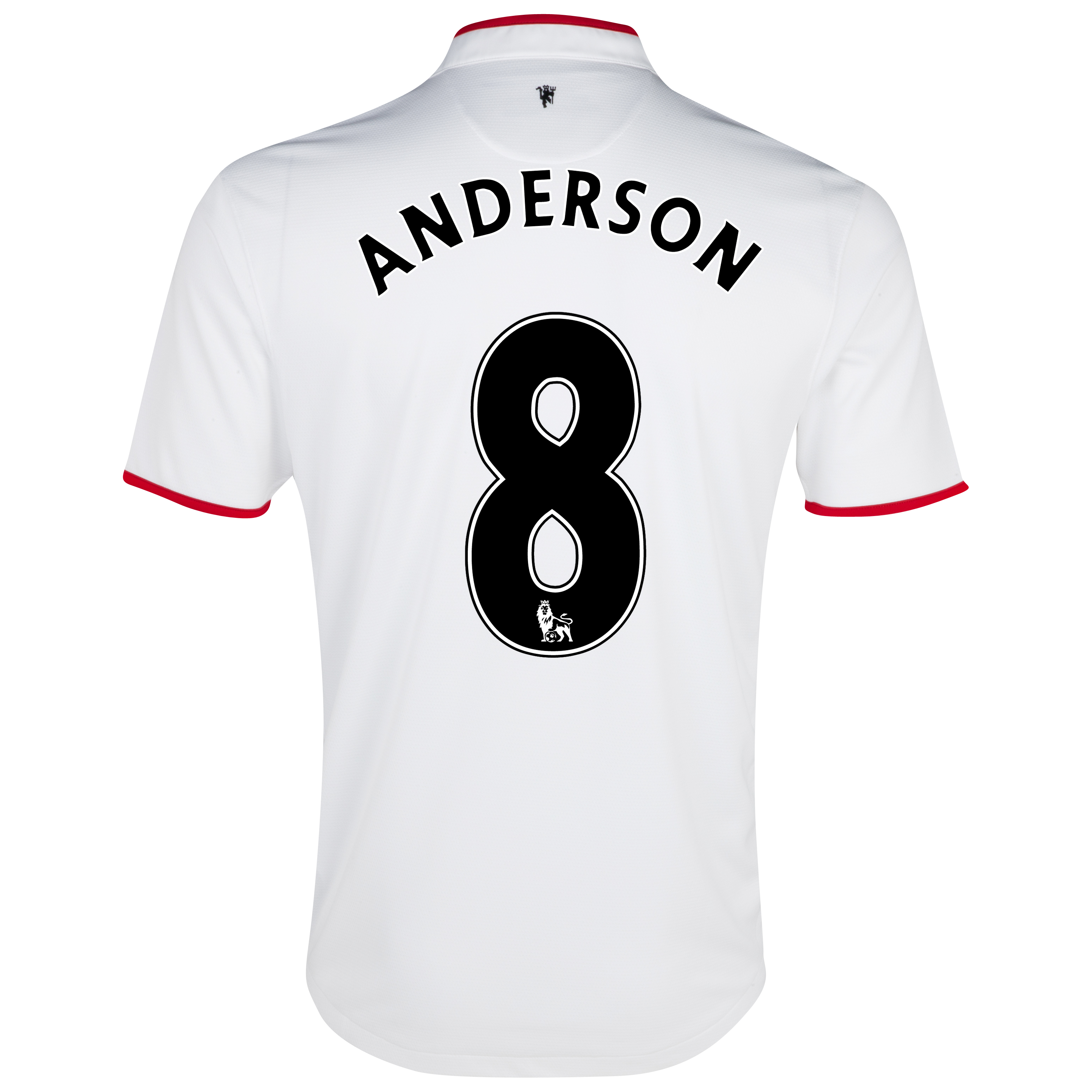 Manchester United Away Shirt 2012/13 with Anderson 8 printing