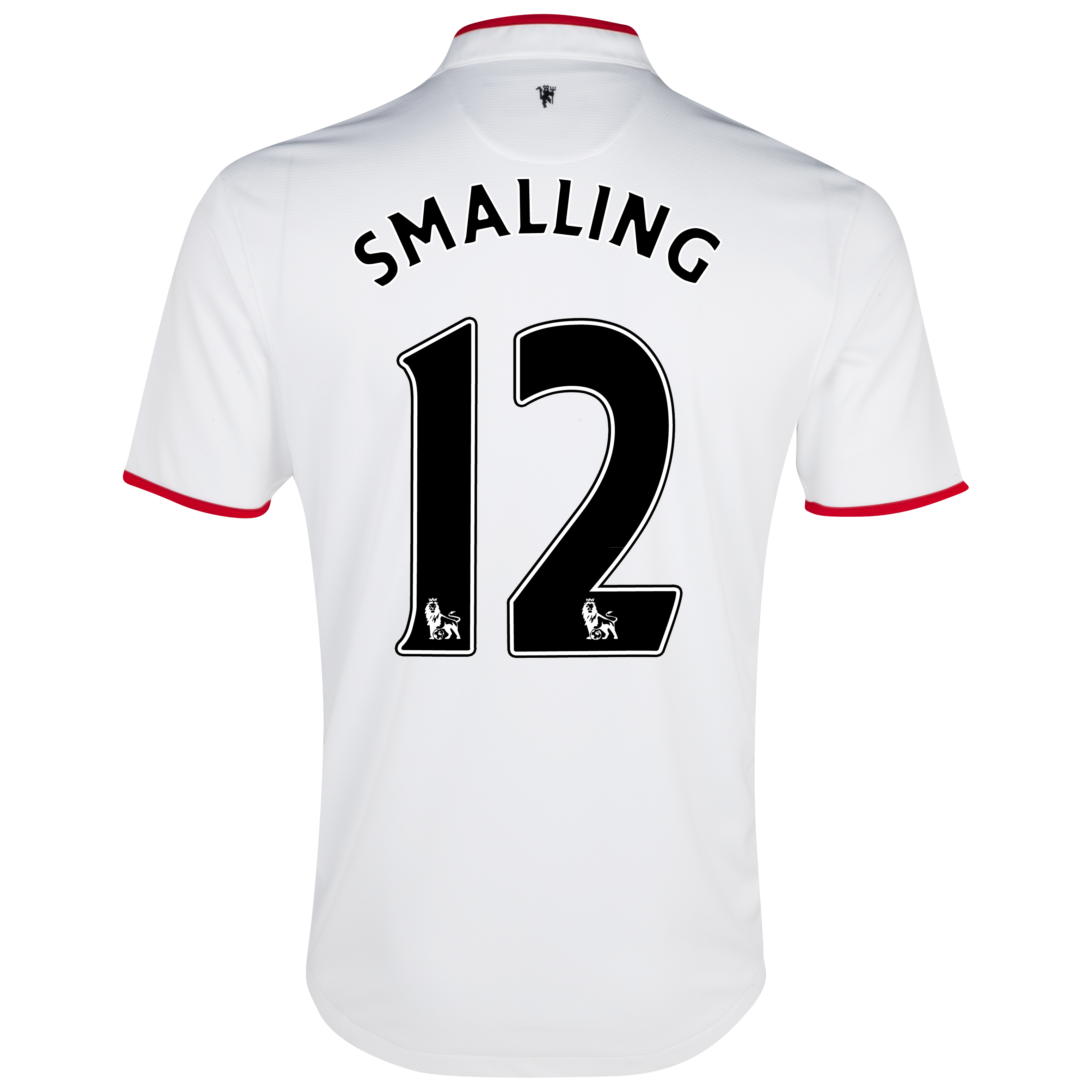 Manchester United Away Shirt 2012/13 with Smalling 12 printing