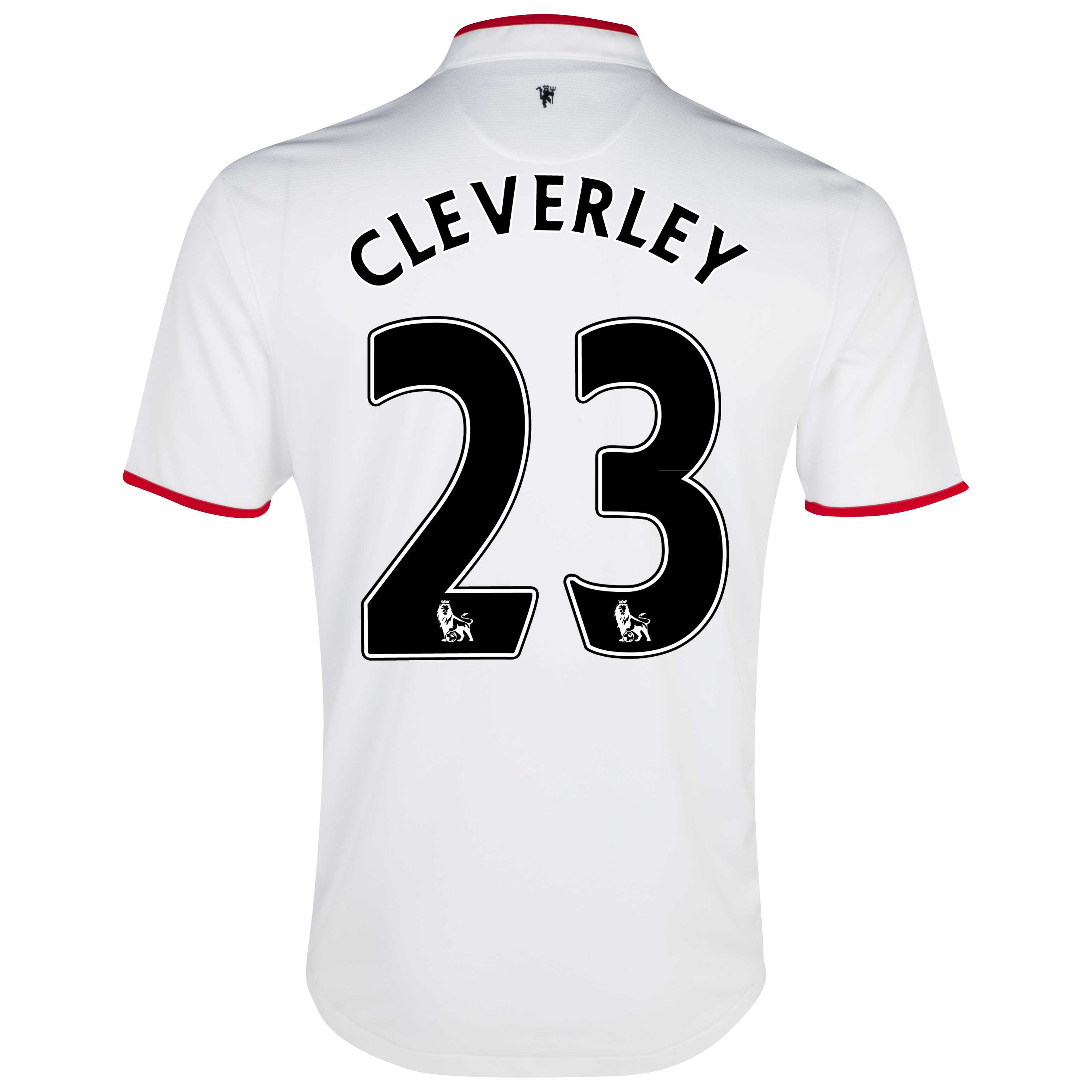 Manchester United Away Shirt 2012/13 with Cleverley 23 printing