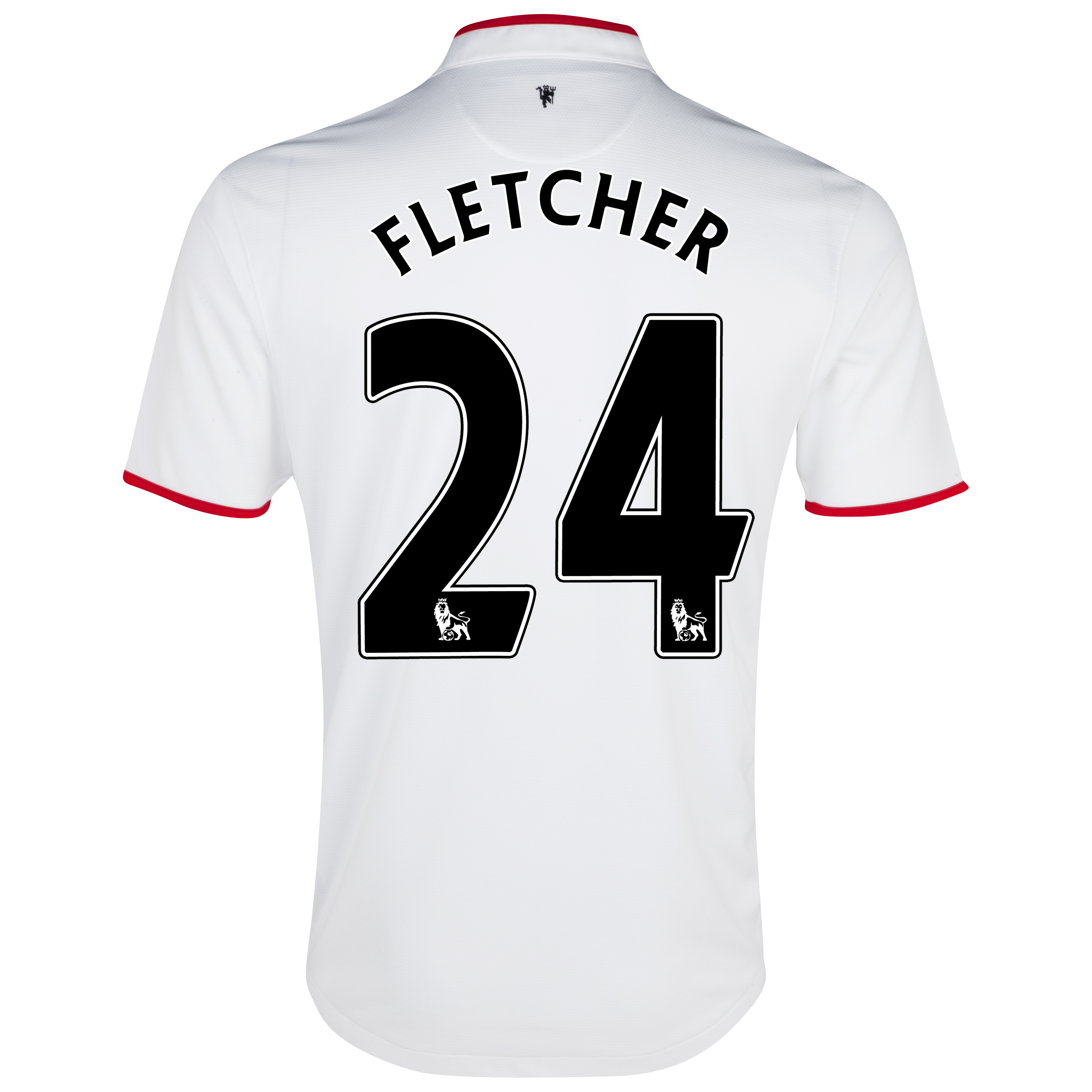 Manchester United Away Shirt 2012/13 with Fletcher 24 printing