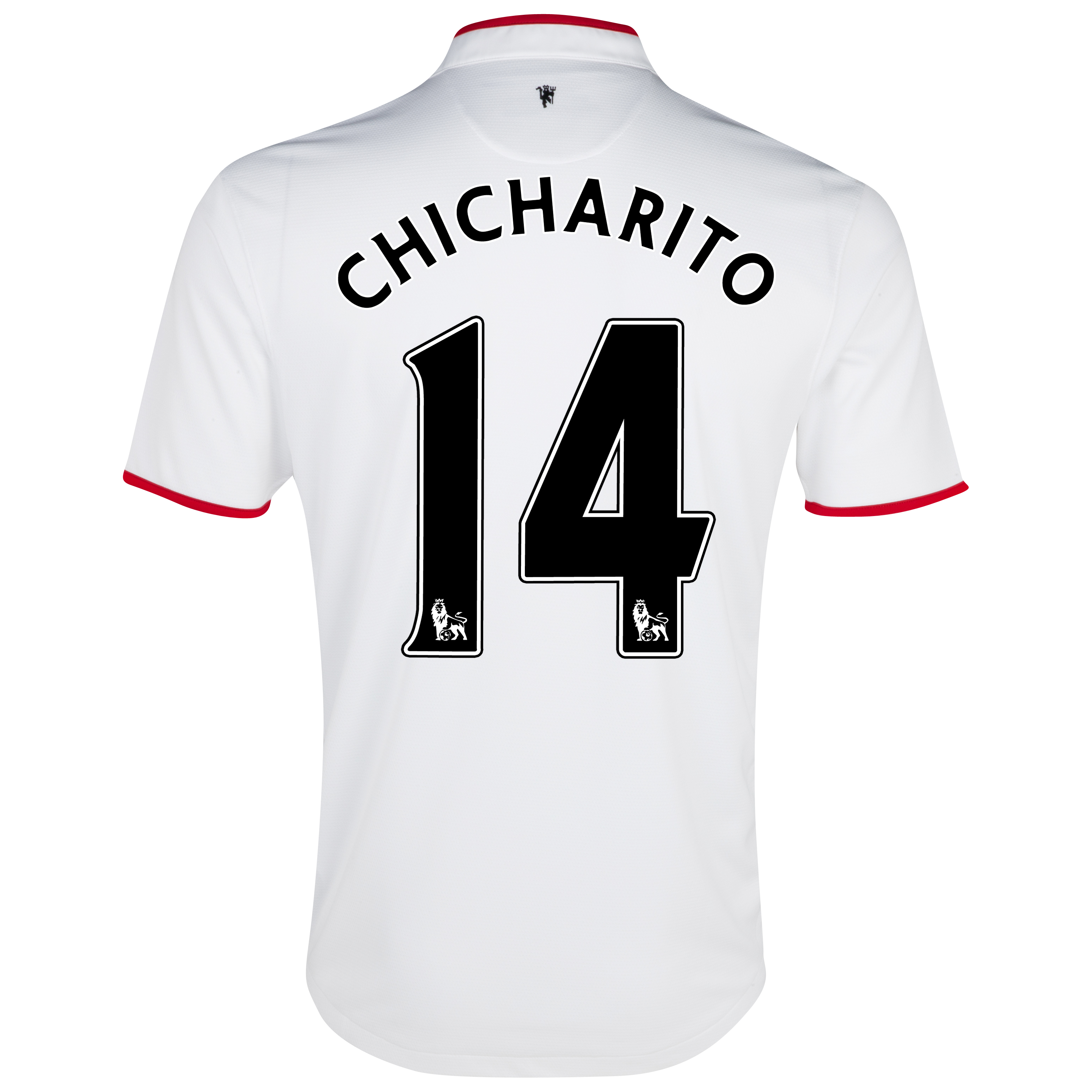 Manchester United Away Shirt 2012/13 - Kids with Chicharito 14 printing