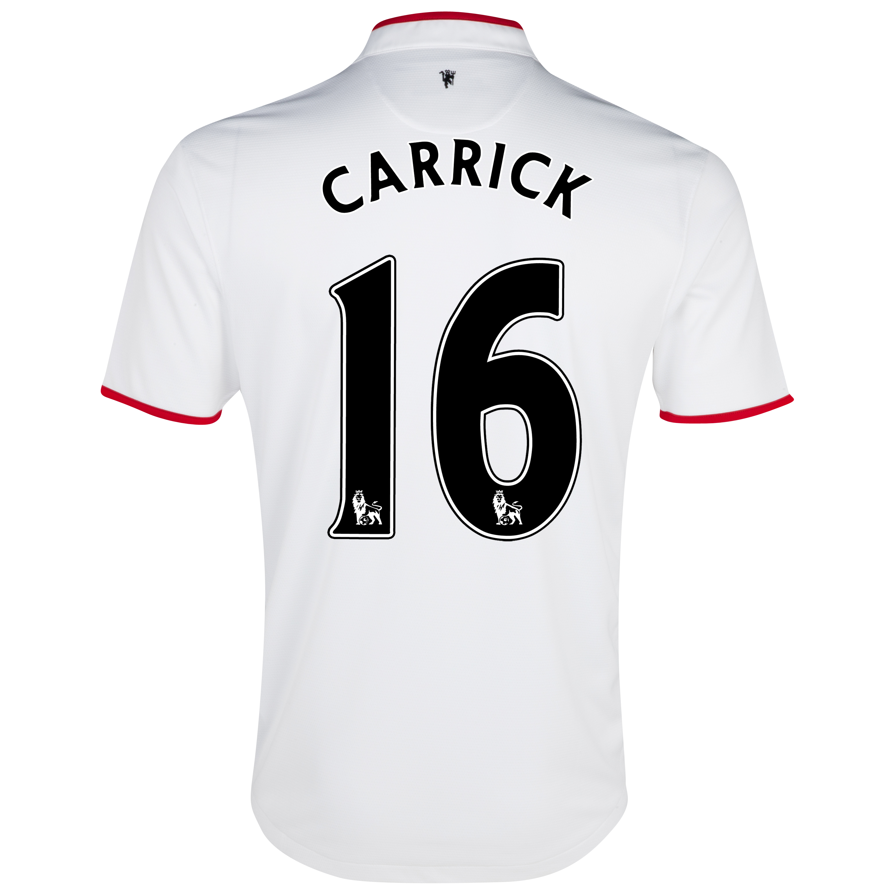 Manchester United Away Shirt 2012/13 - Kids with Carrick 16 printing