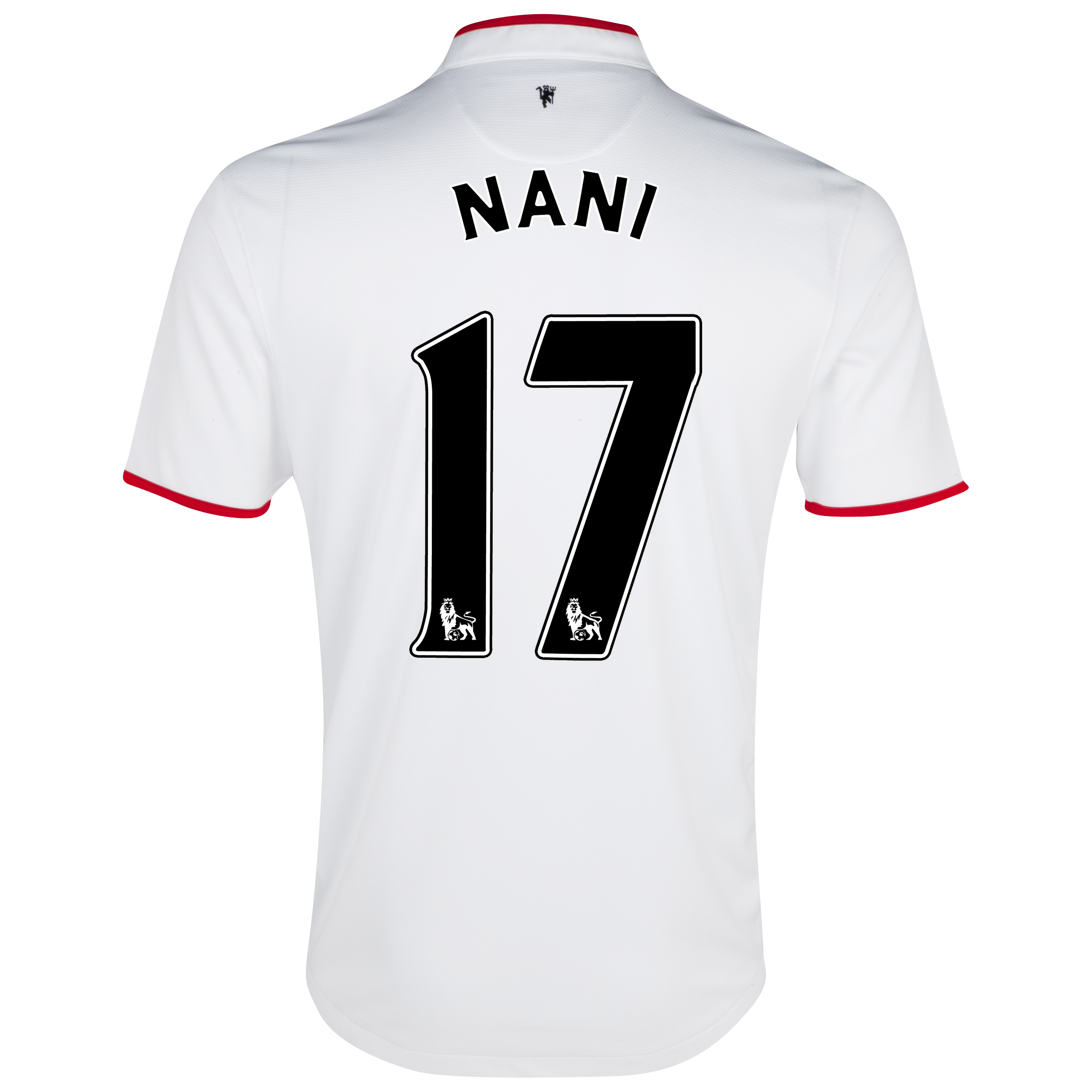 Manchester United Away Shirt 2012/13 - Kids with Nani 17 printing