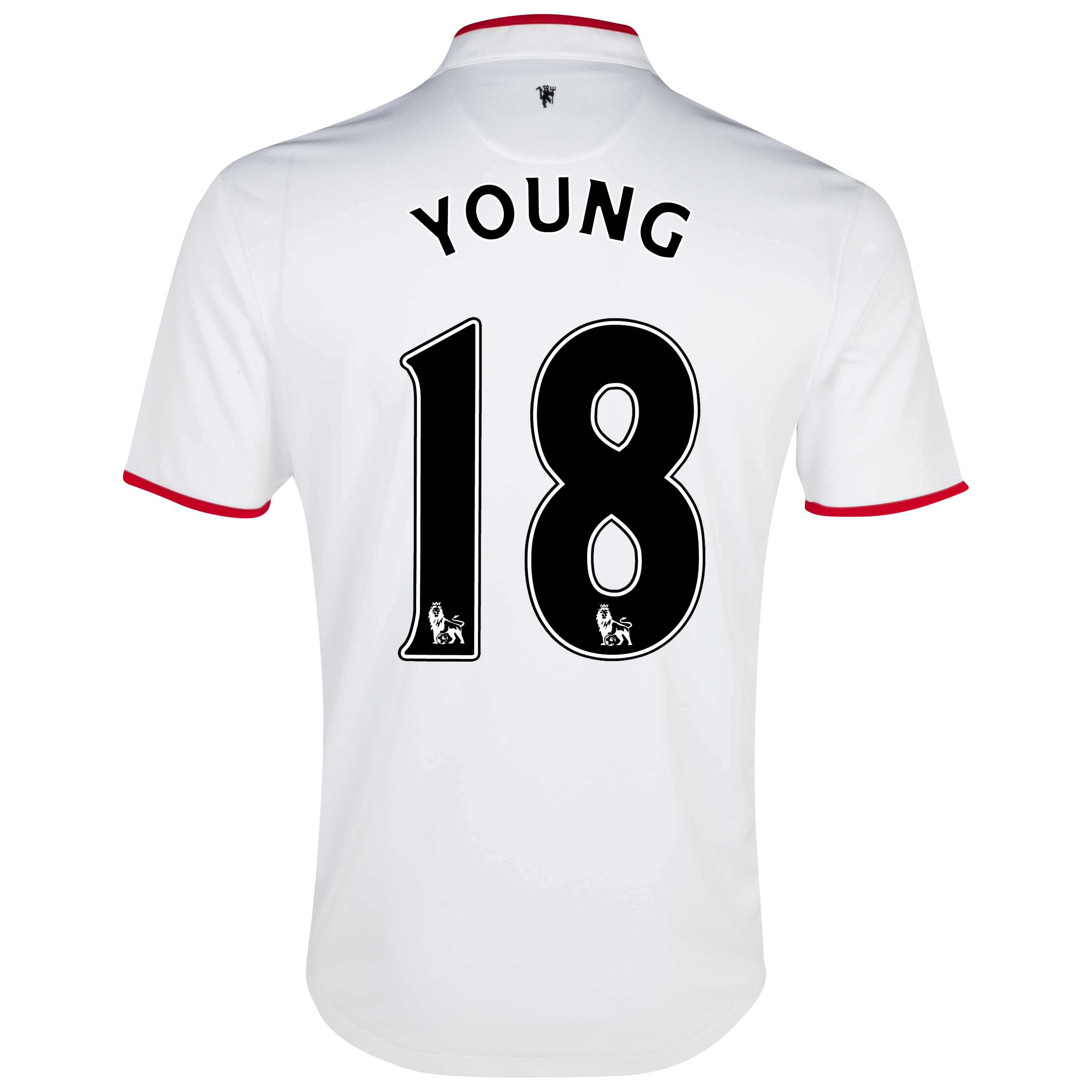 Manchester United Away Shirt 2012/13 - Kids with Young 18 printing