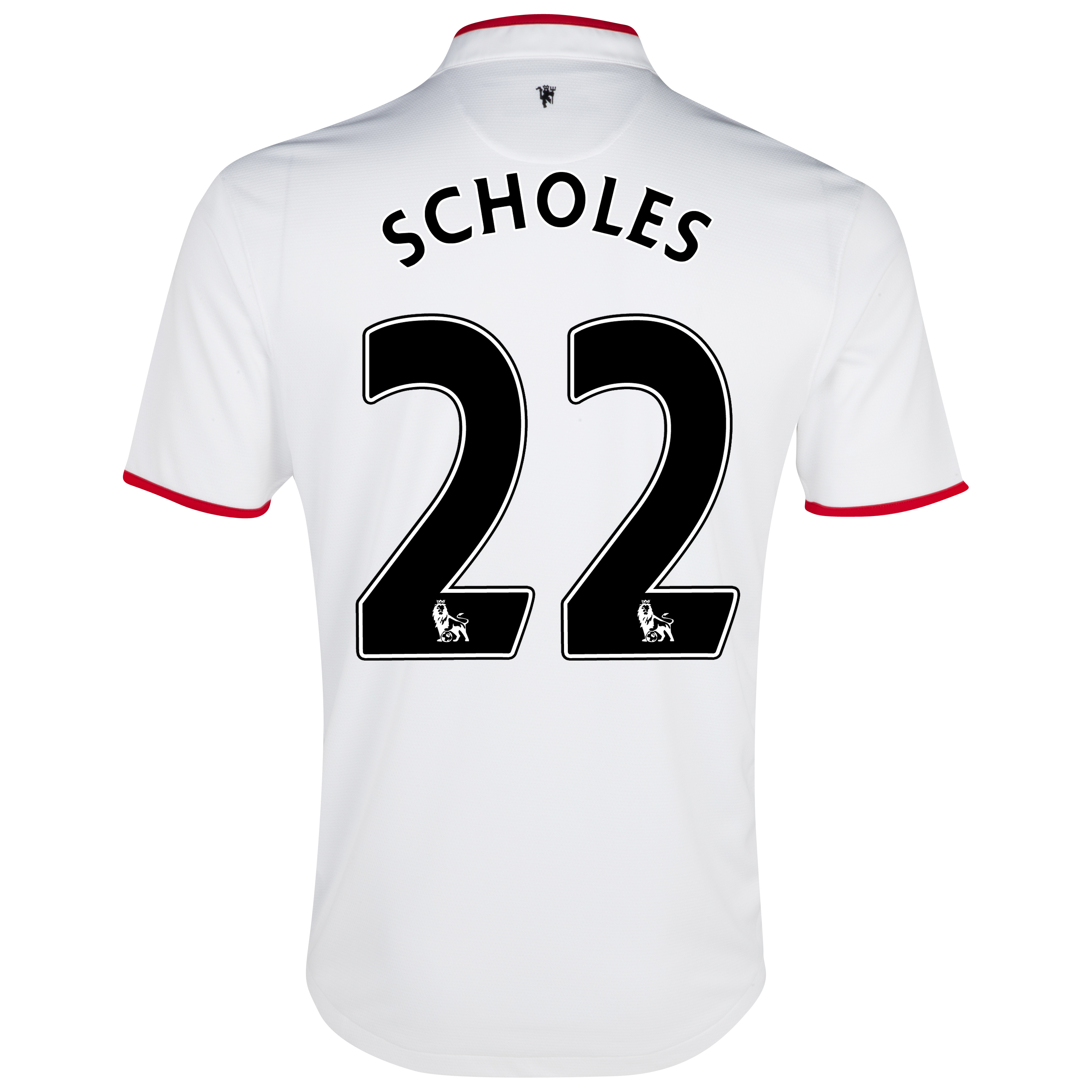 Manchester United Away Shirt 2012/13 - Kids with Scholes 22 printing
