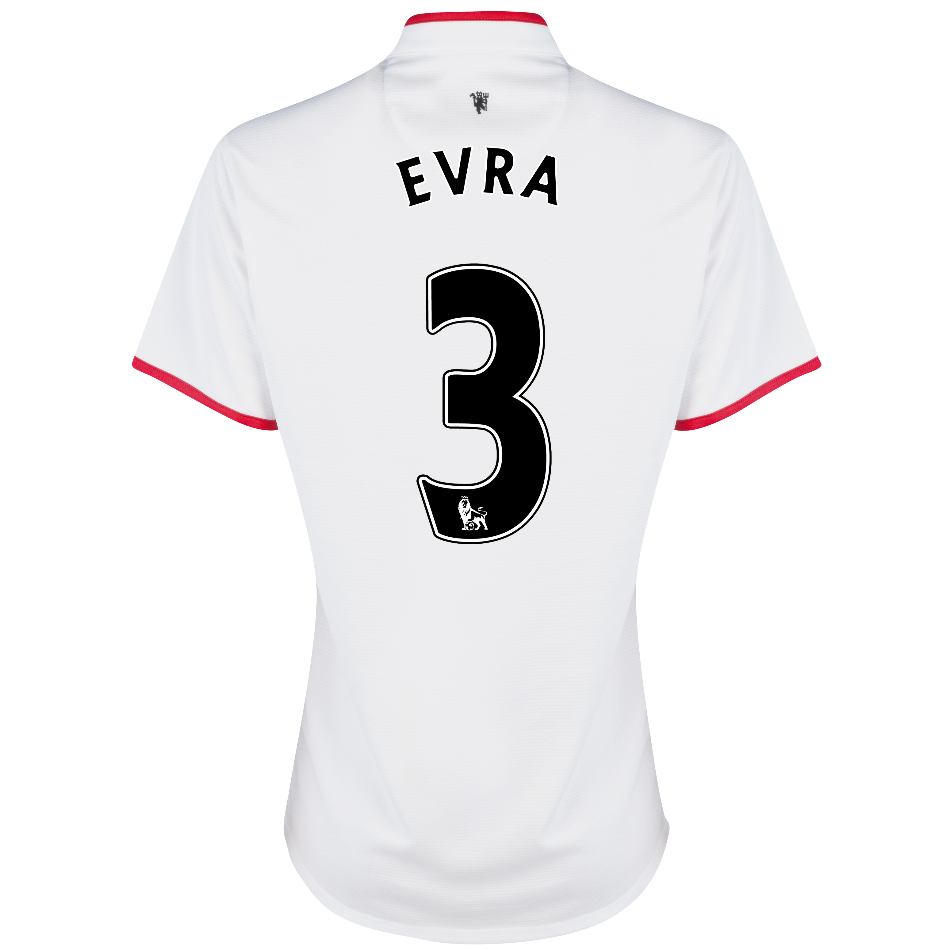 Manchester United Away Shirt 2012/13 - Womens with Evra 3 printing
