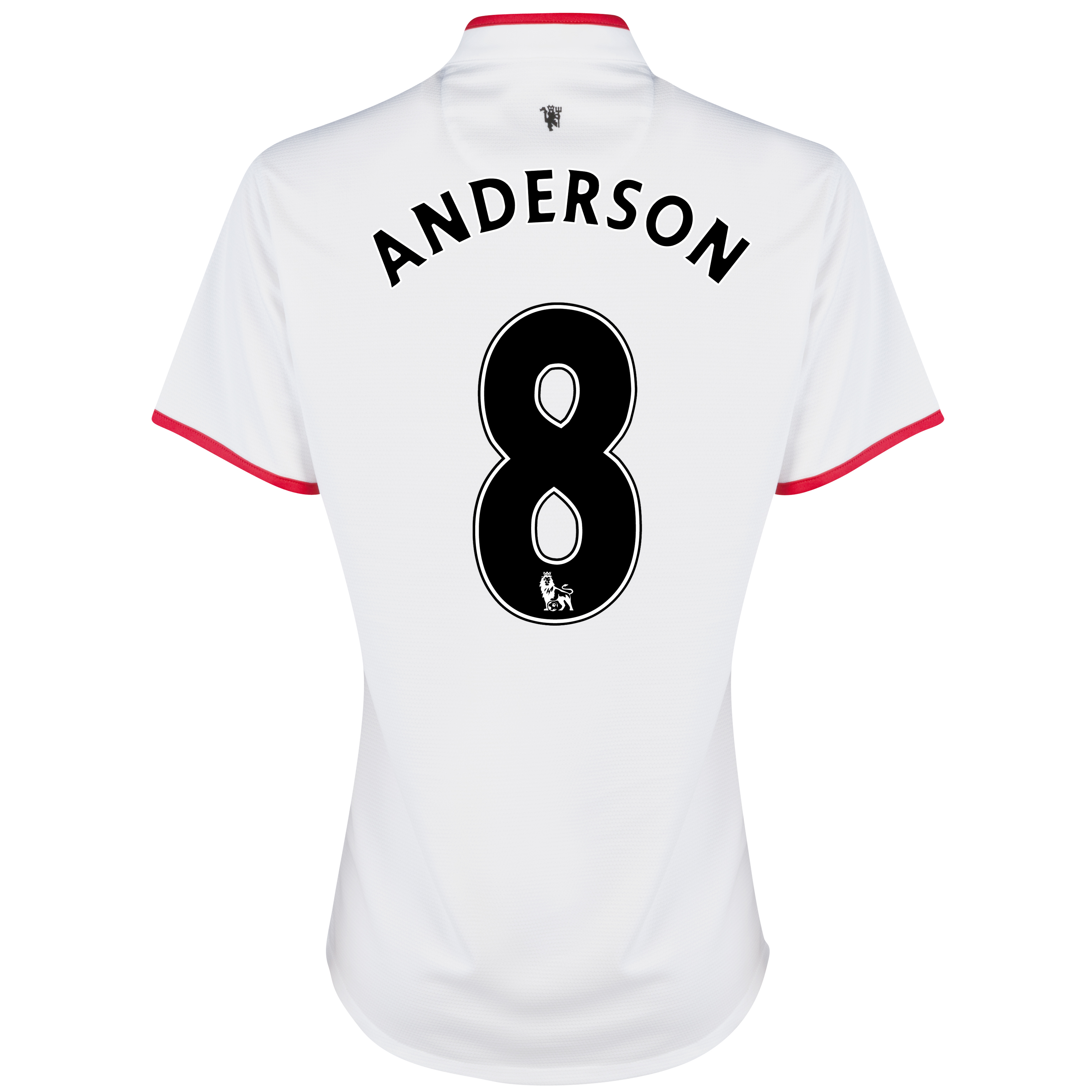 Manchester United Away Shirt 2012/13 - Womens with Anderson 8 printing