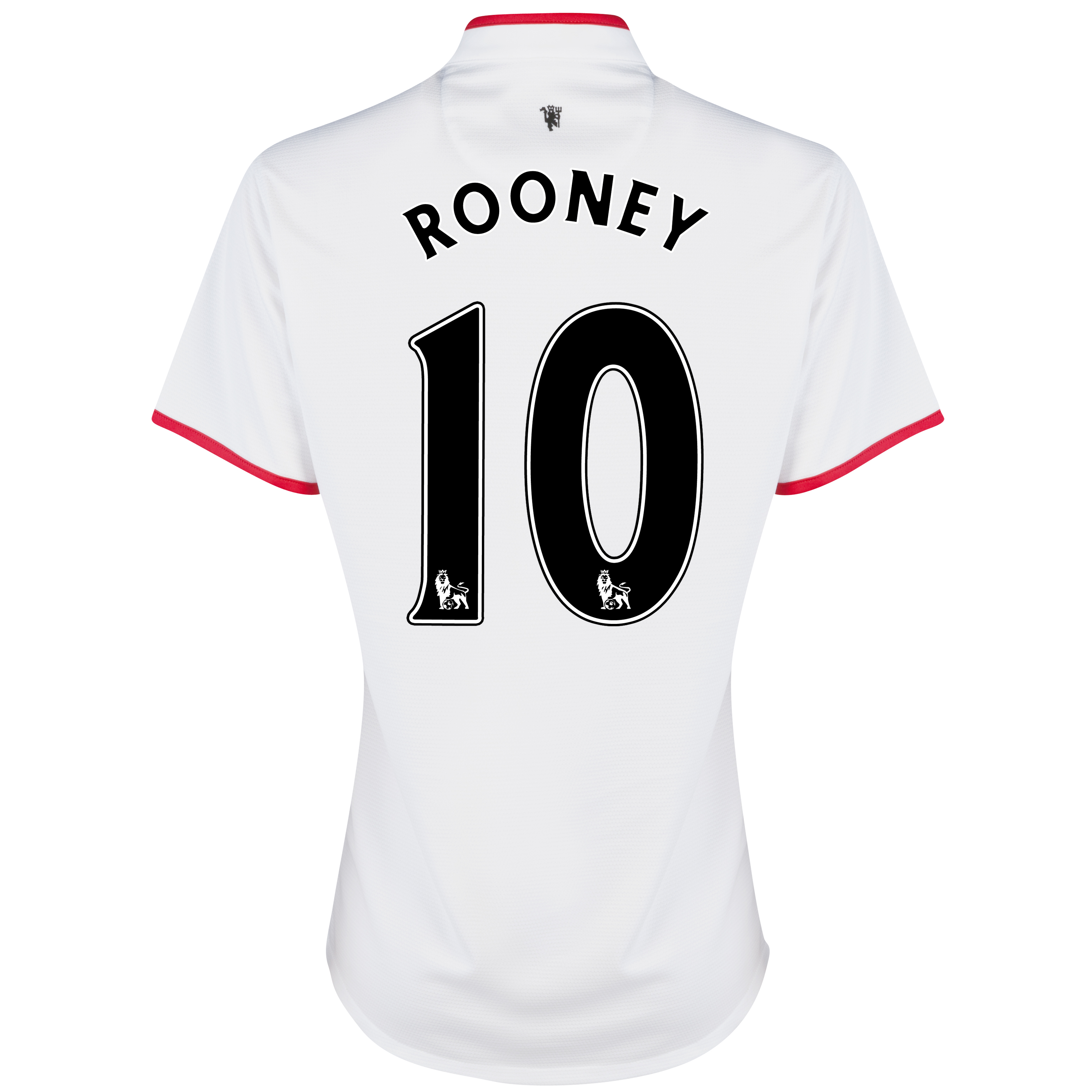 Manchester United Away Shirt 2012/13 - Womens with Rooney 10 printing