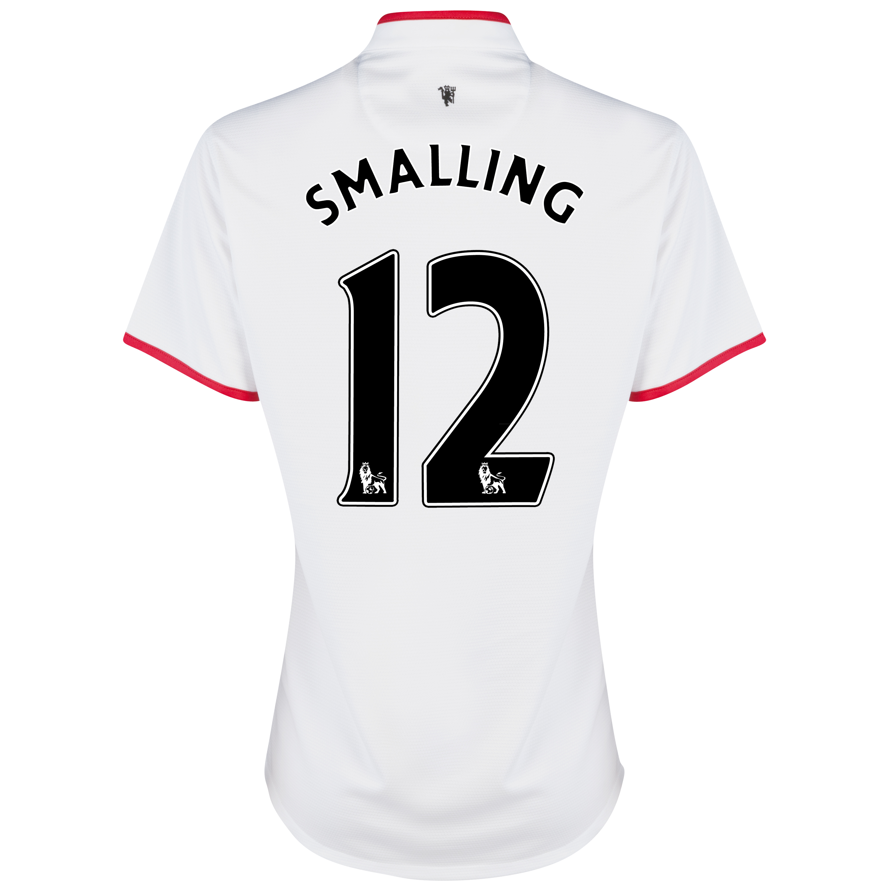 Manchester United Away Shirt 2012/13 - Womens with Smalling 12 printing