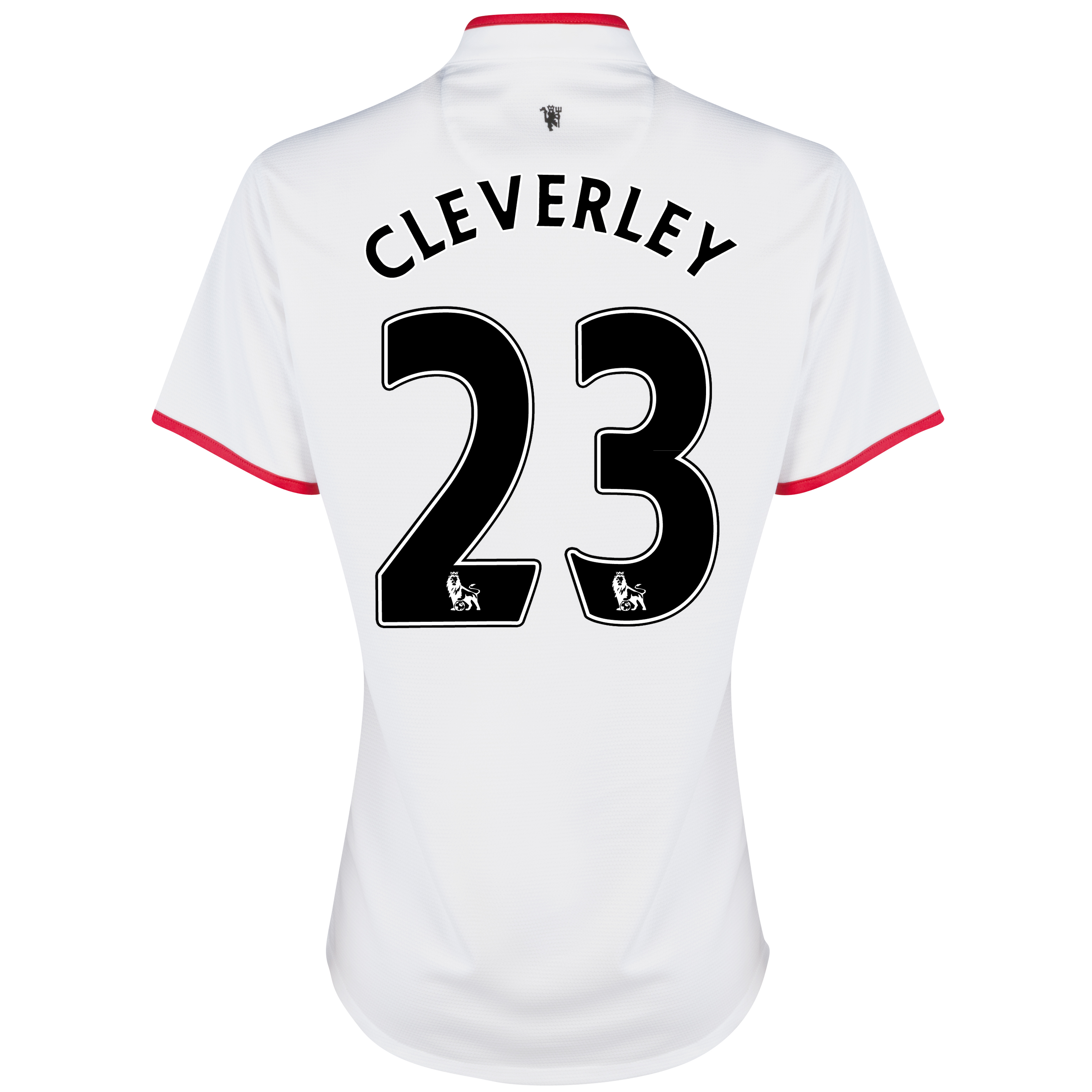 Manchester United Away Shirt 2012/13 - Womens with Cleverley 23 printing
