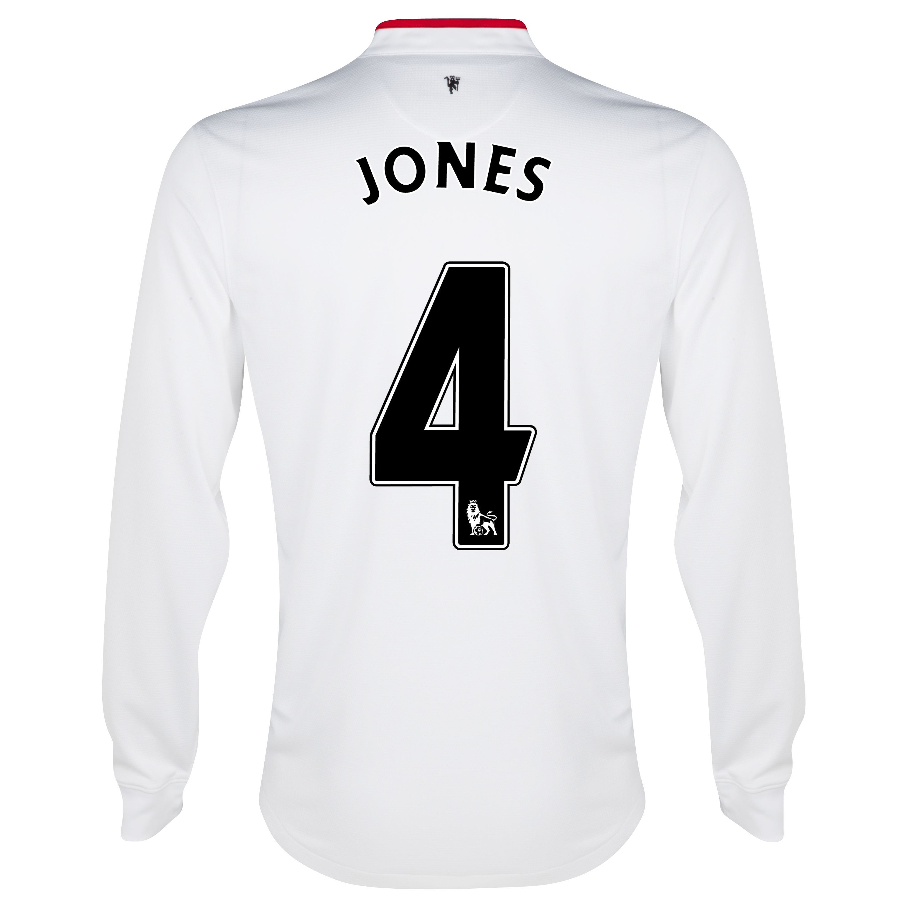 Manchester United Away Shirt 2012/13 - Long Sleeved - Kids with Jones 4 printing