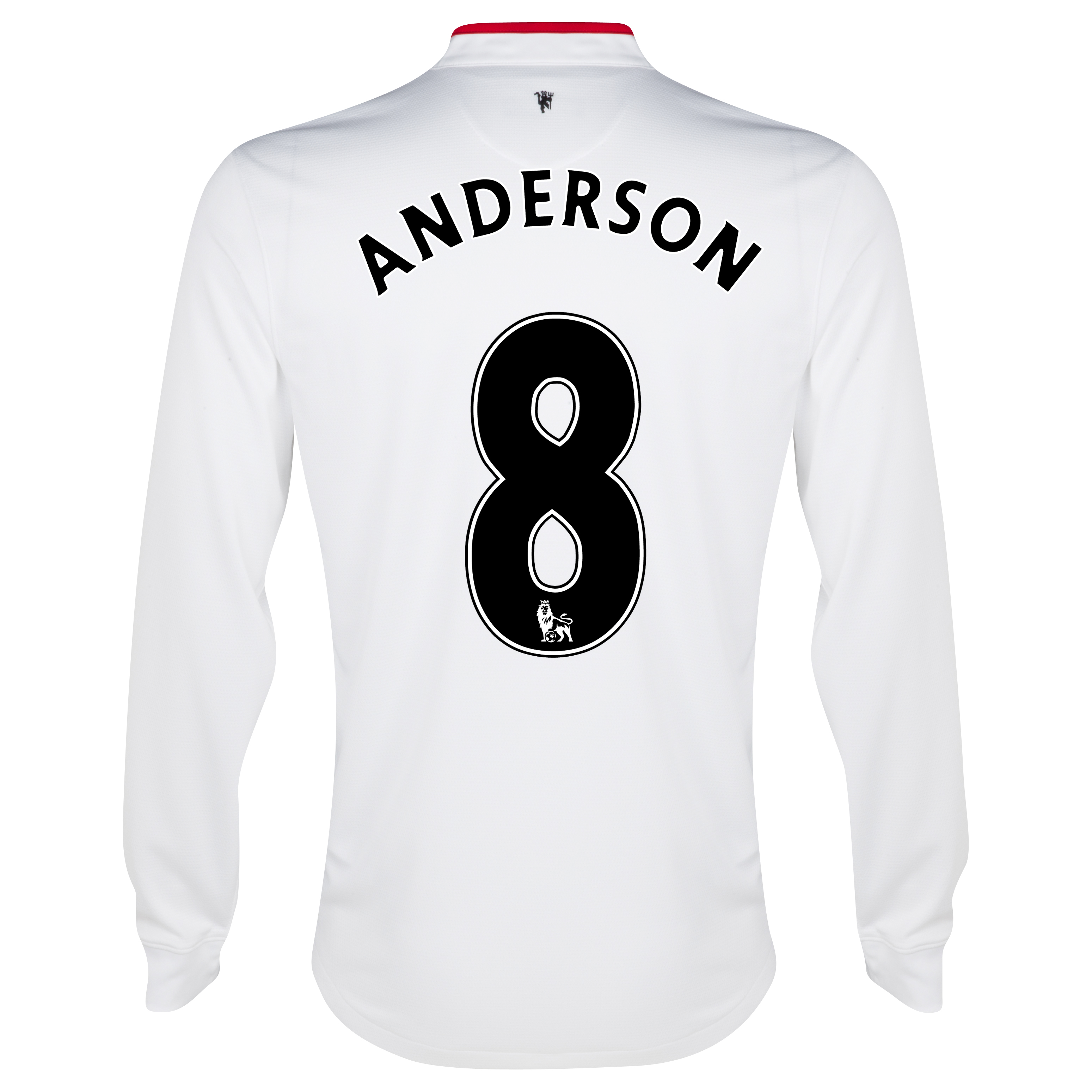 Manchester United Away Shirt 2012/13 - Long Sleeved - Kids with Anderson 8 printing