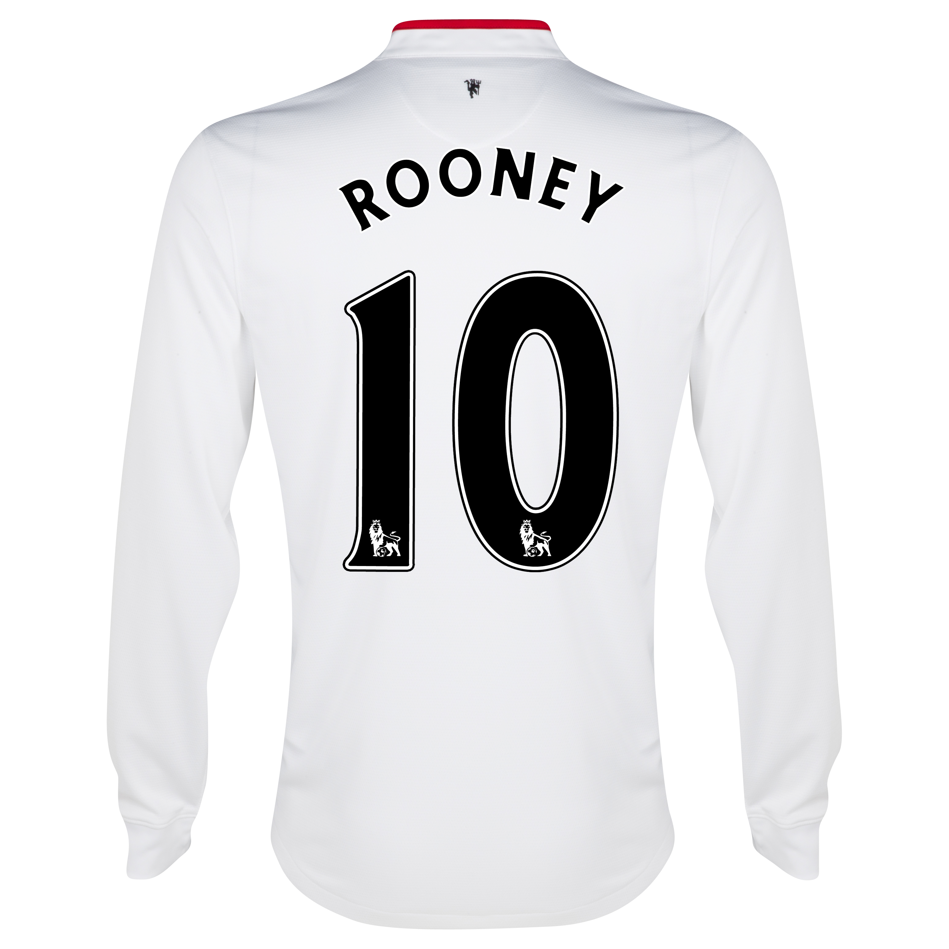 Manchester United Away Shirt 2012/13 - Long Sleeved - Kids with Rooney 10 printing
