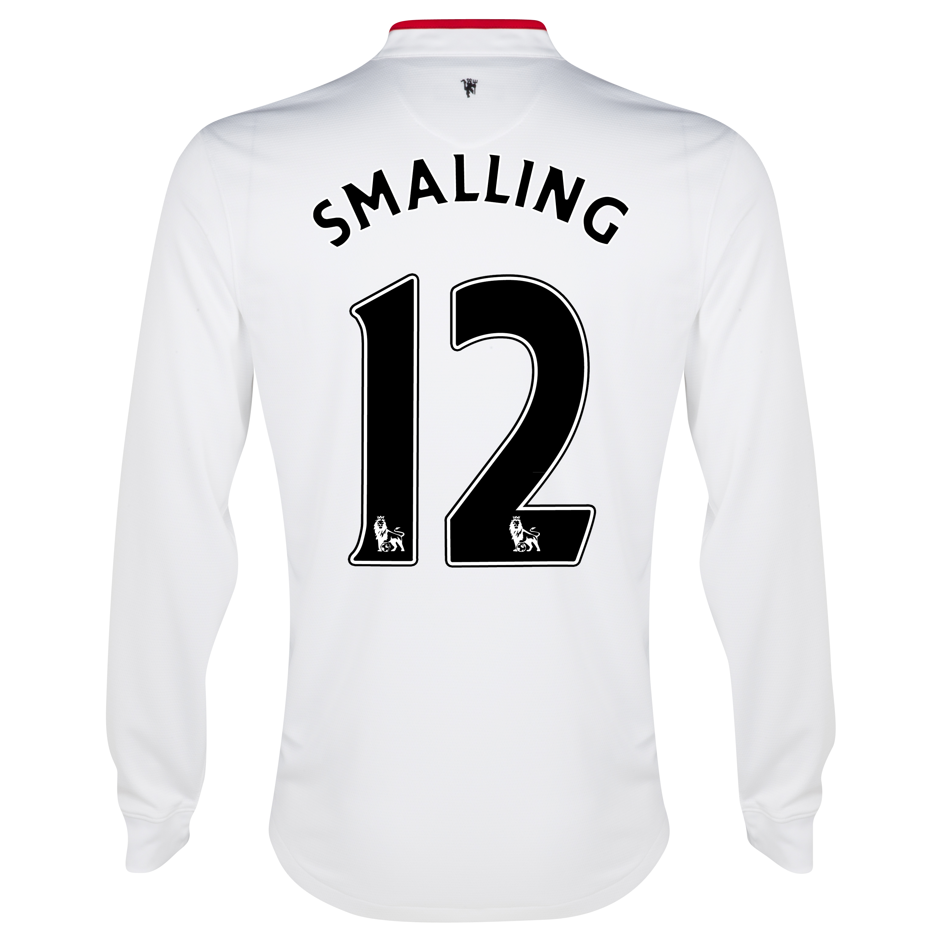 Manchester United Away Shirt 2012/13 - Long Sleeved - Kids with Smalling 12 printing