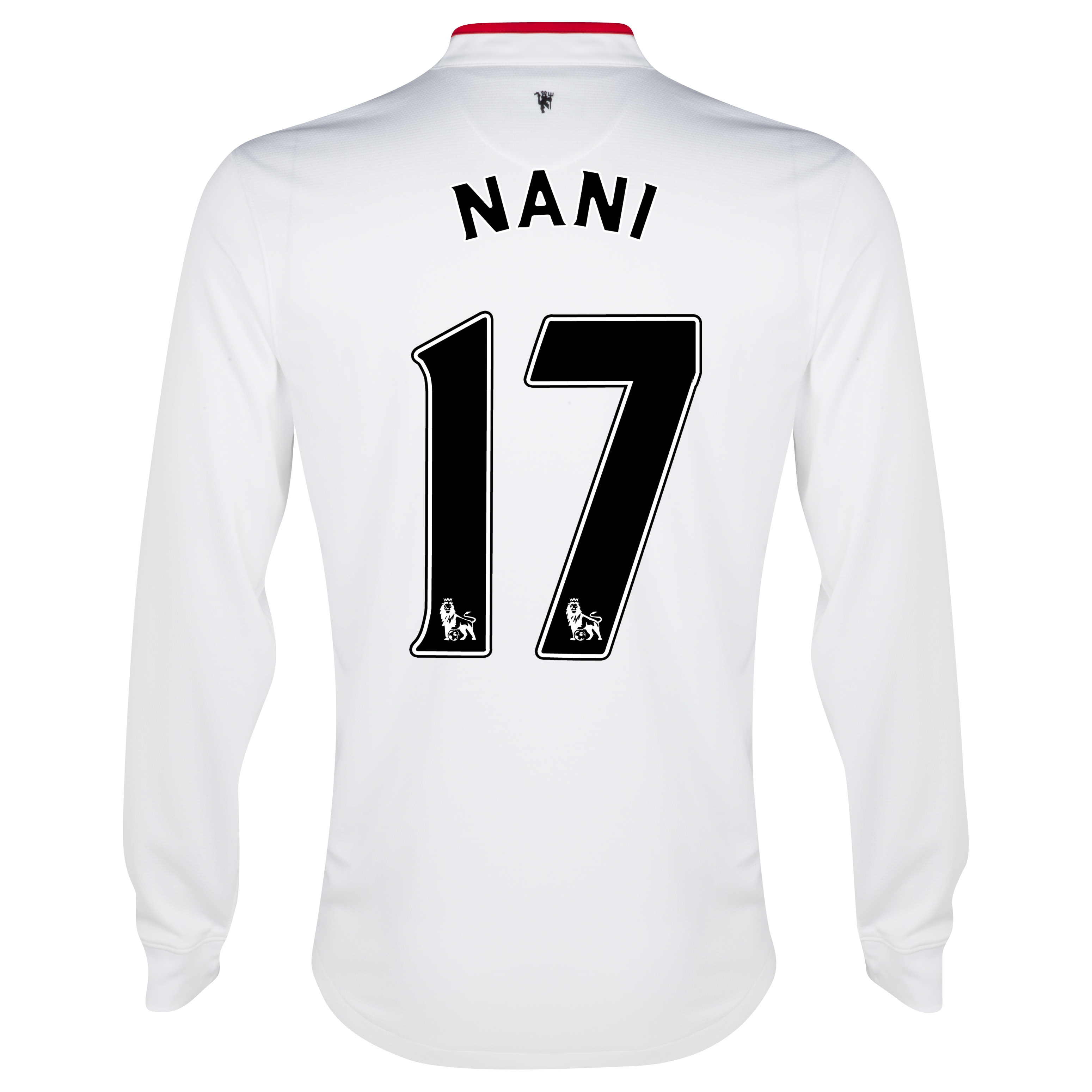 Manchester United Away Shirt 2012/13 - Long Sleeved - Kids with Nani 17 printing