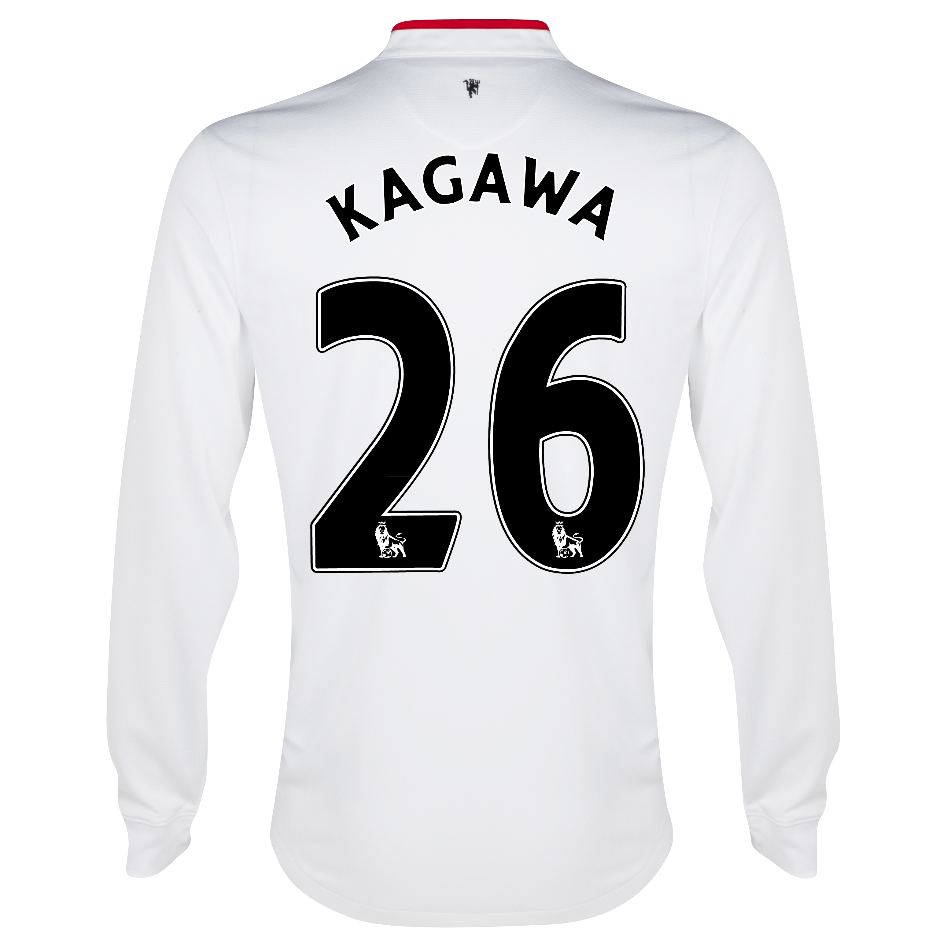 Manchester United Away Shirt 2012/13 - Long Sleeved - Kids with Kagawa 26 printing