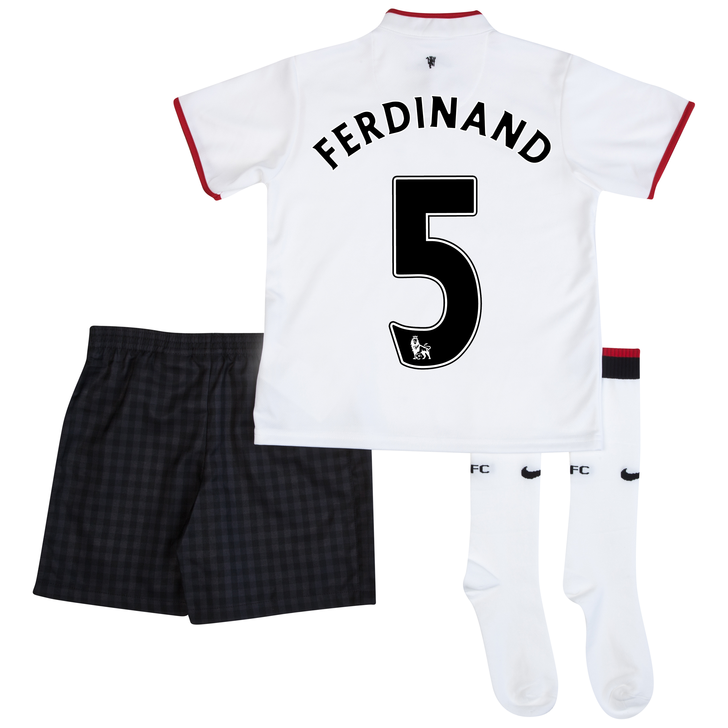Manchester United Away Kit 2012/13 - Little Boys with Ferdinand 5 printing