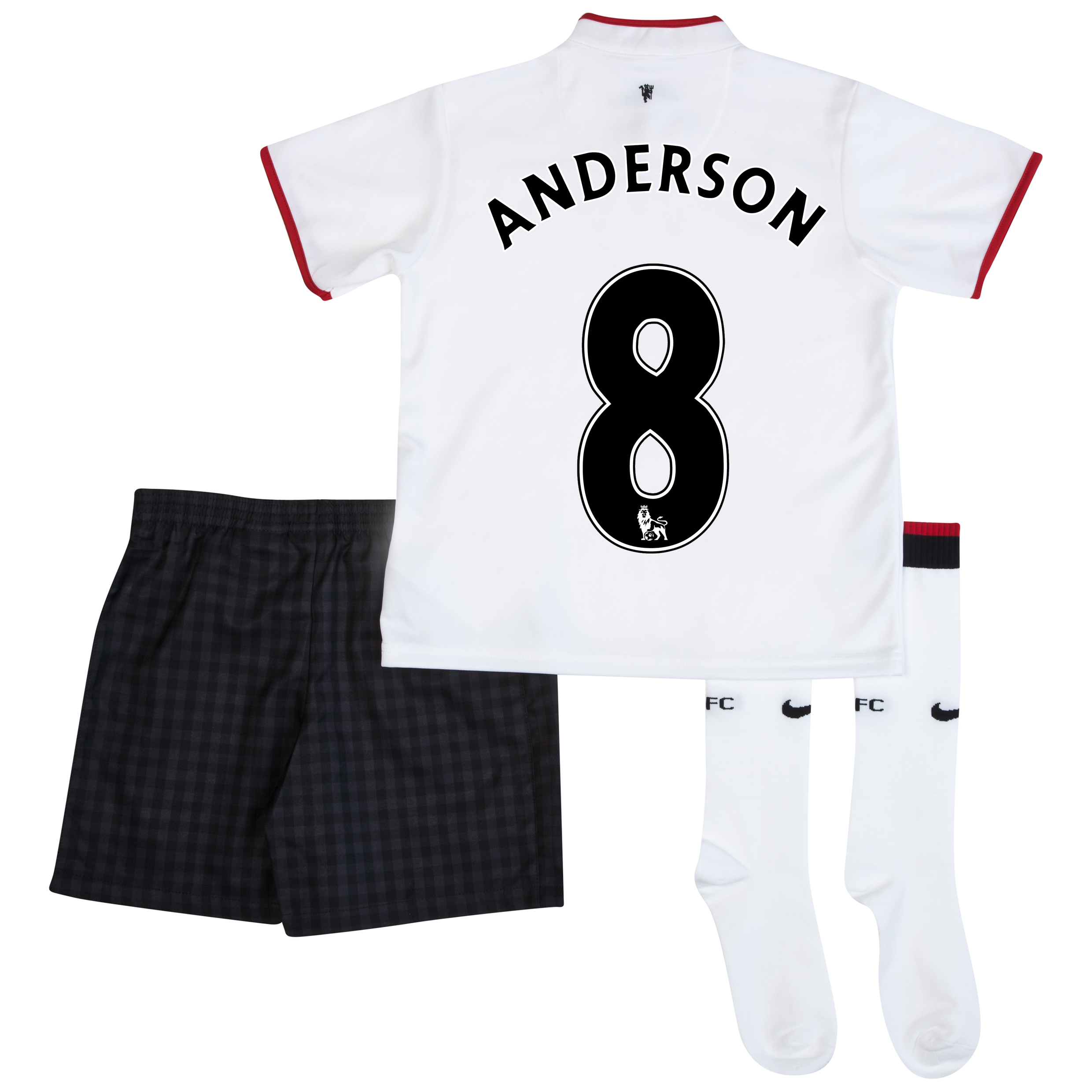 Manchester United Away Kit 2012/13 - Little Boys with Anderson 8 printing